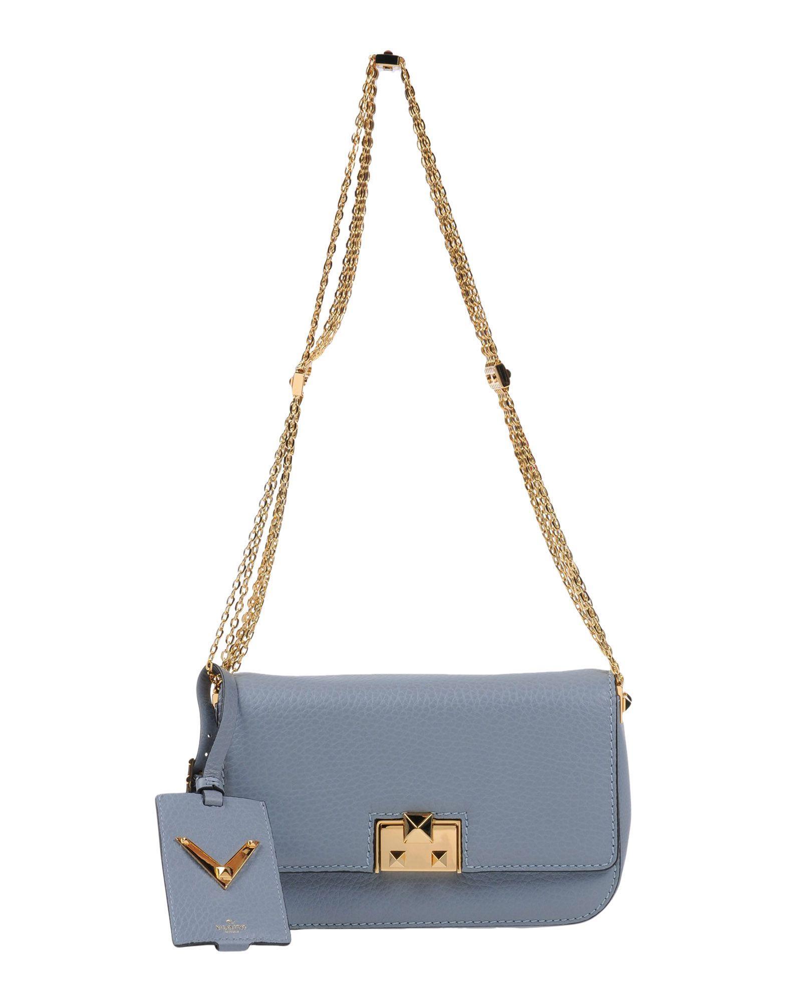 Valentino Handbags In Grey