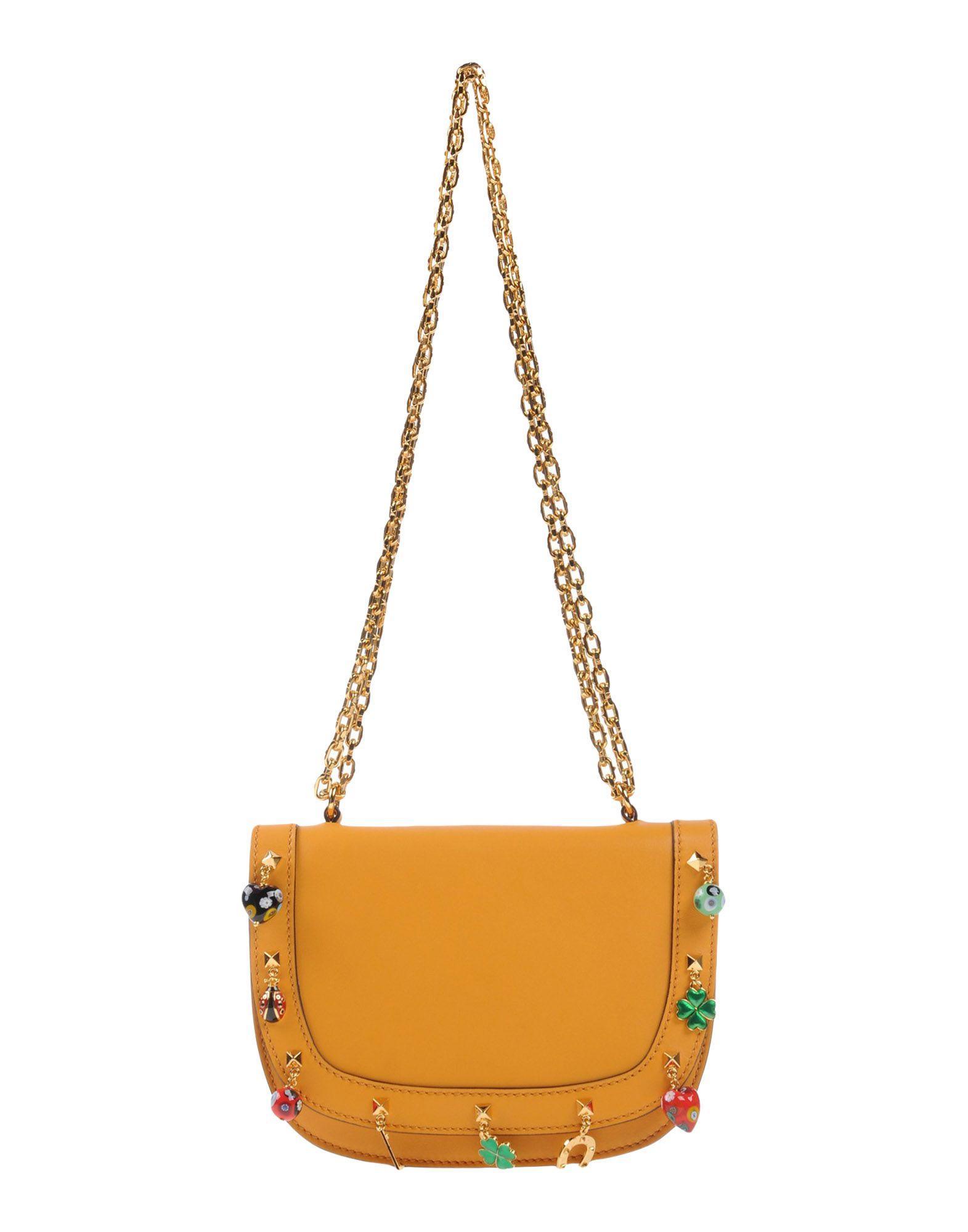 Valentino Handbags In Ocher