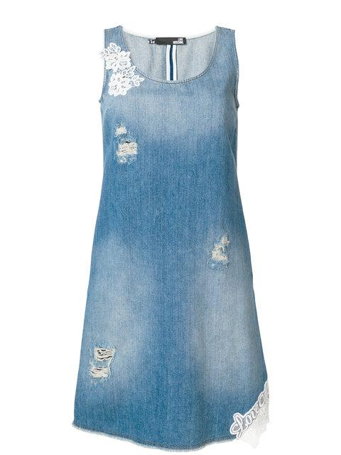 Love Moschino Denim Vest Dress