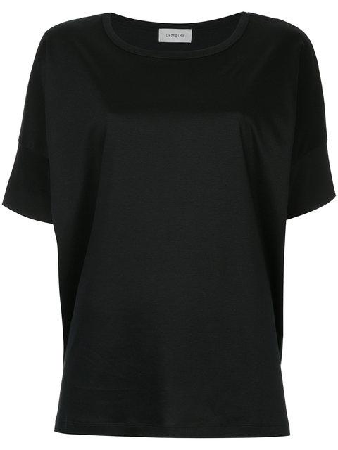 Lemaire Jersey T In Black