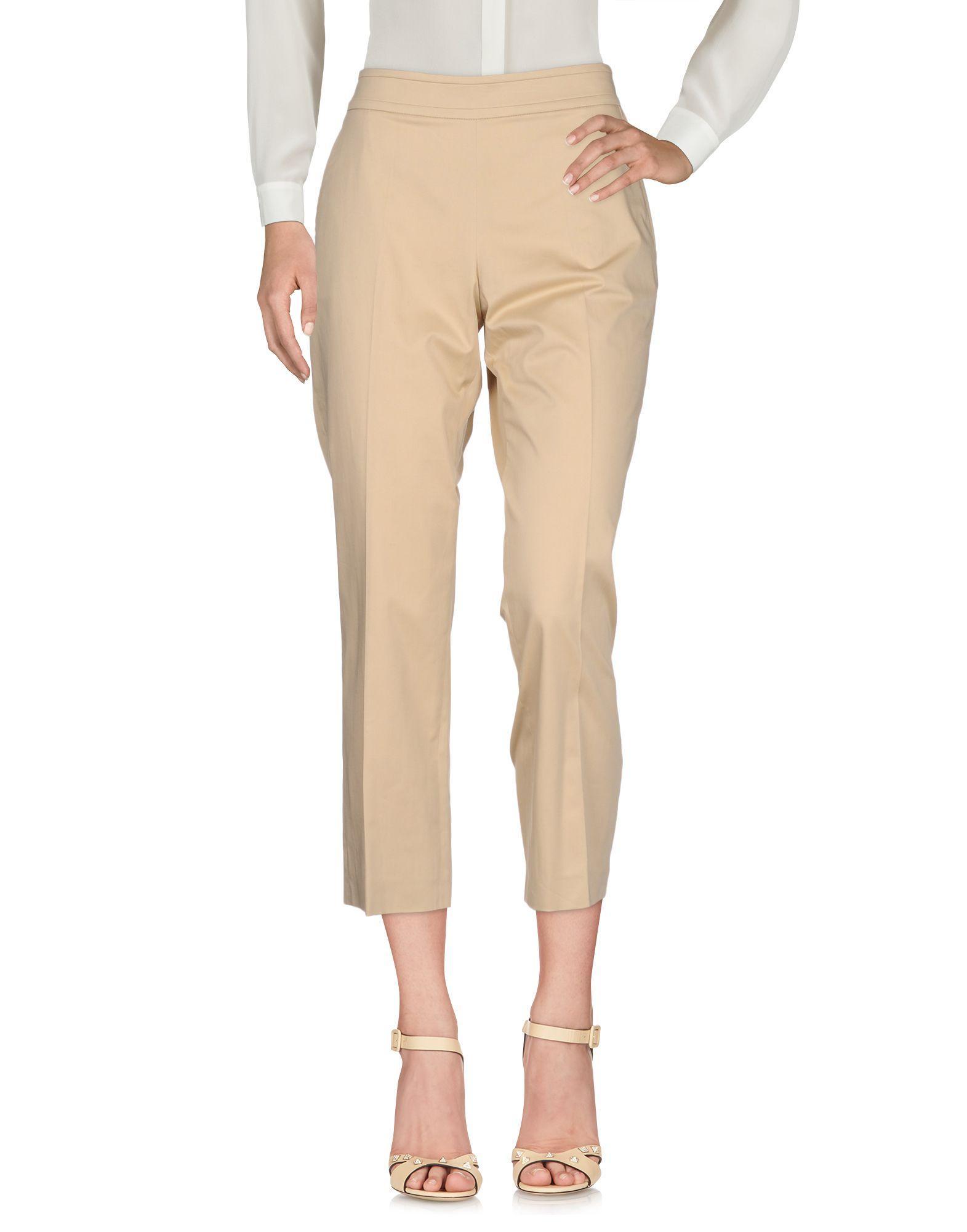 Agnona Casual Pants In Beige