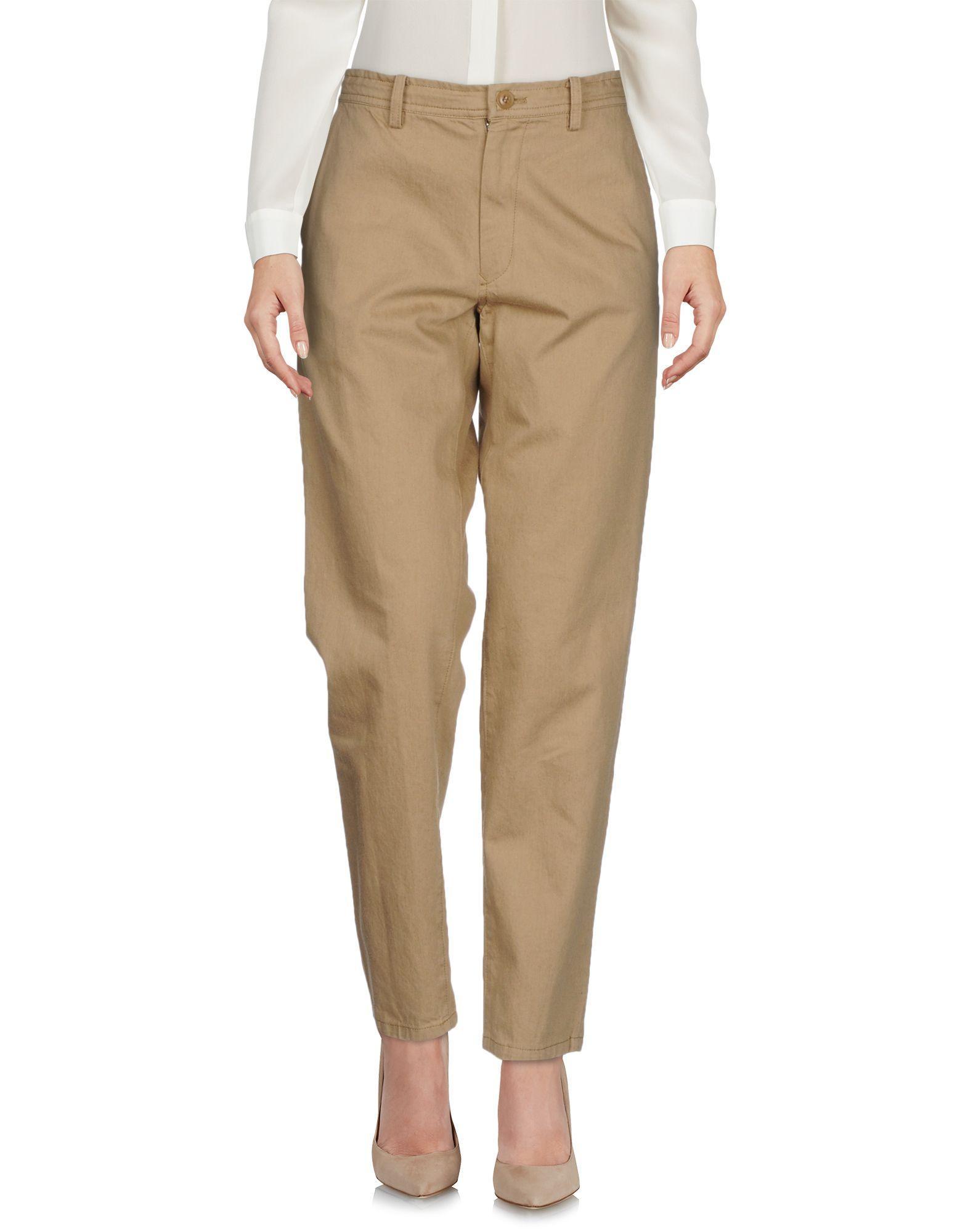 Y's Casual Pants In Camel