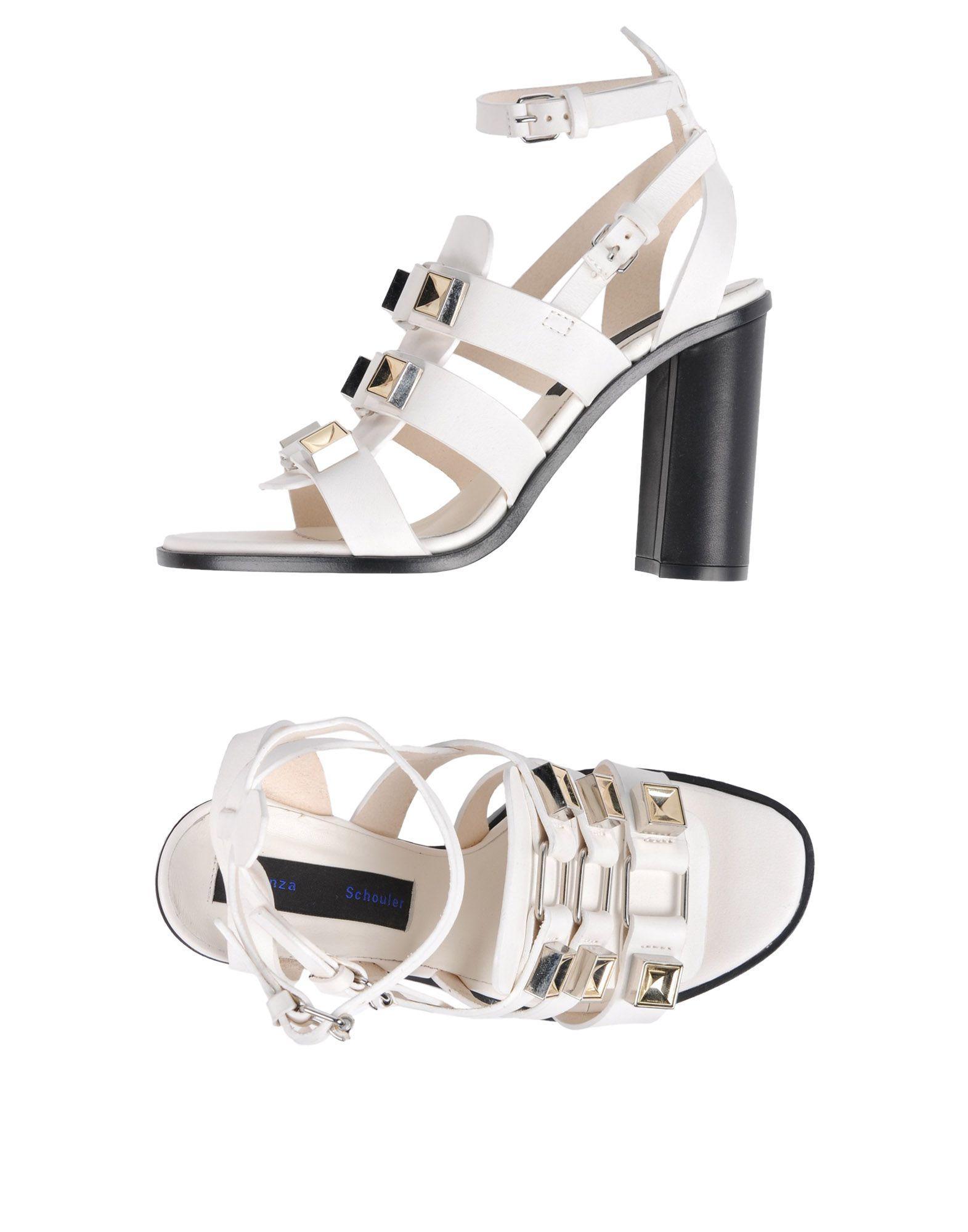 Proenza Schouler Sandals In White