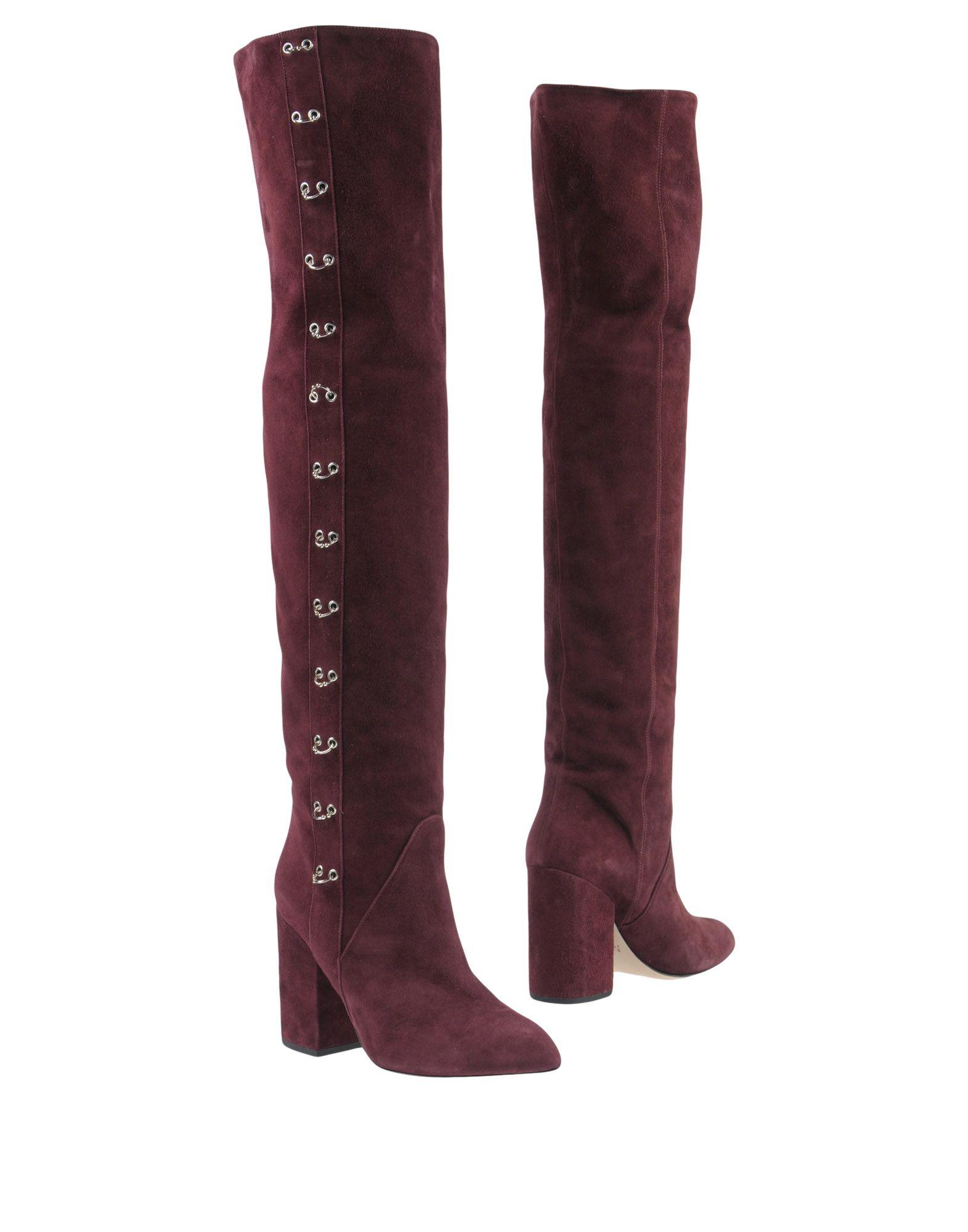 Space Style Concept Boots In Deep Purple