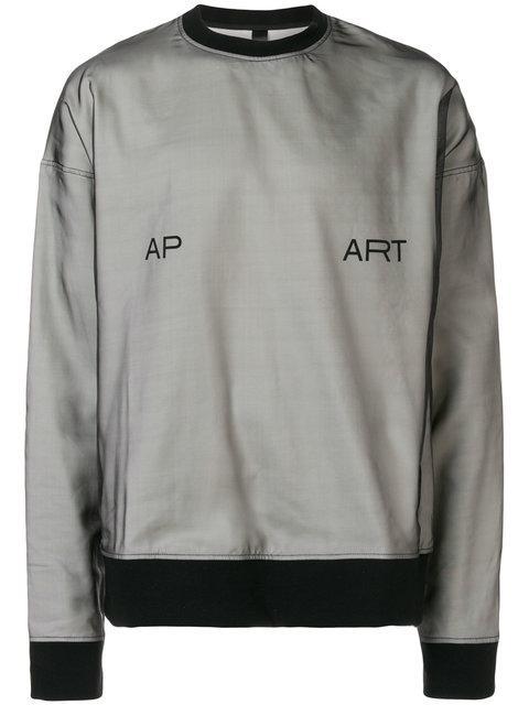 Odeur Oversized Sweatshirt In Black