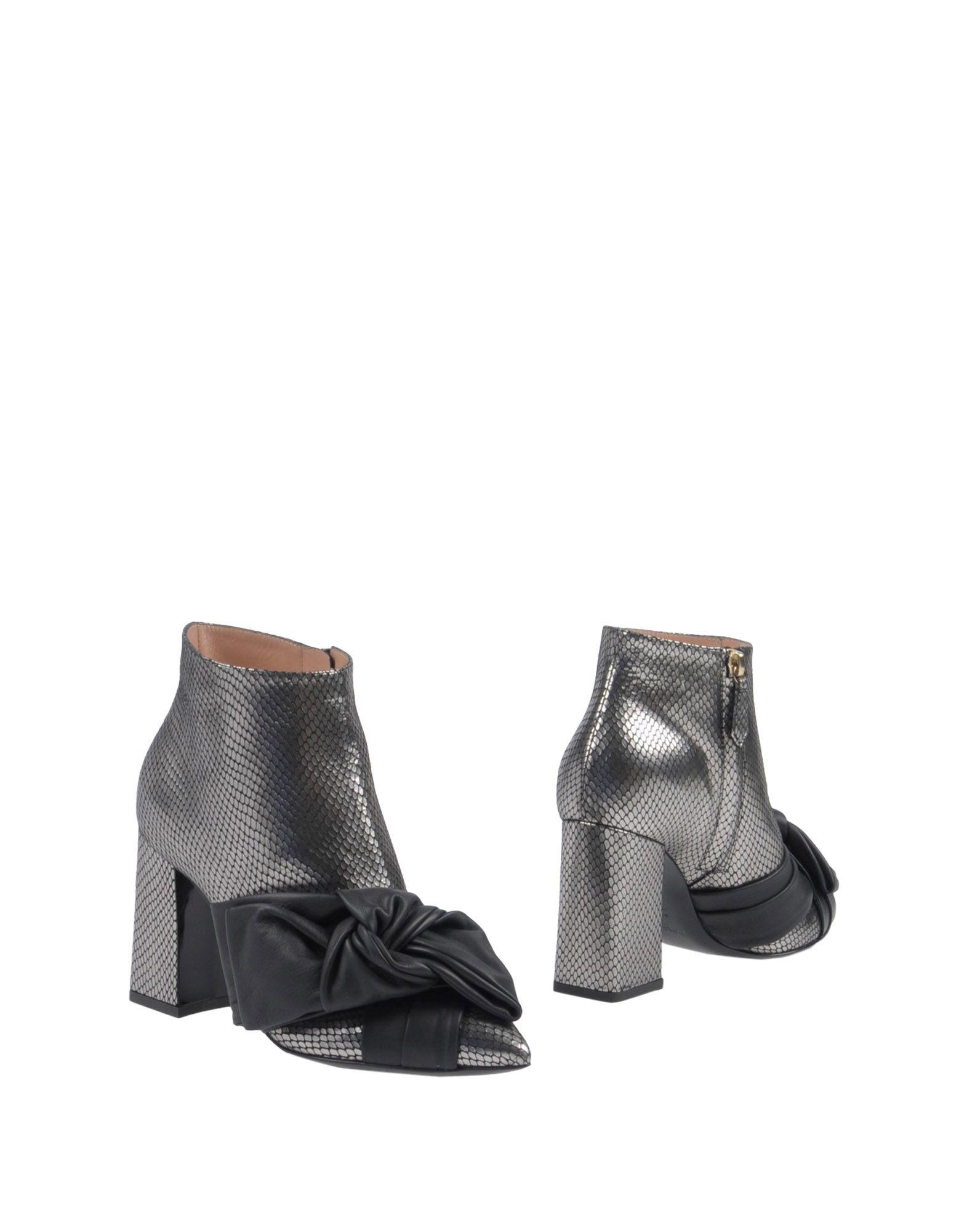 Pollini Ankle Boot In Silver