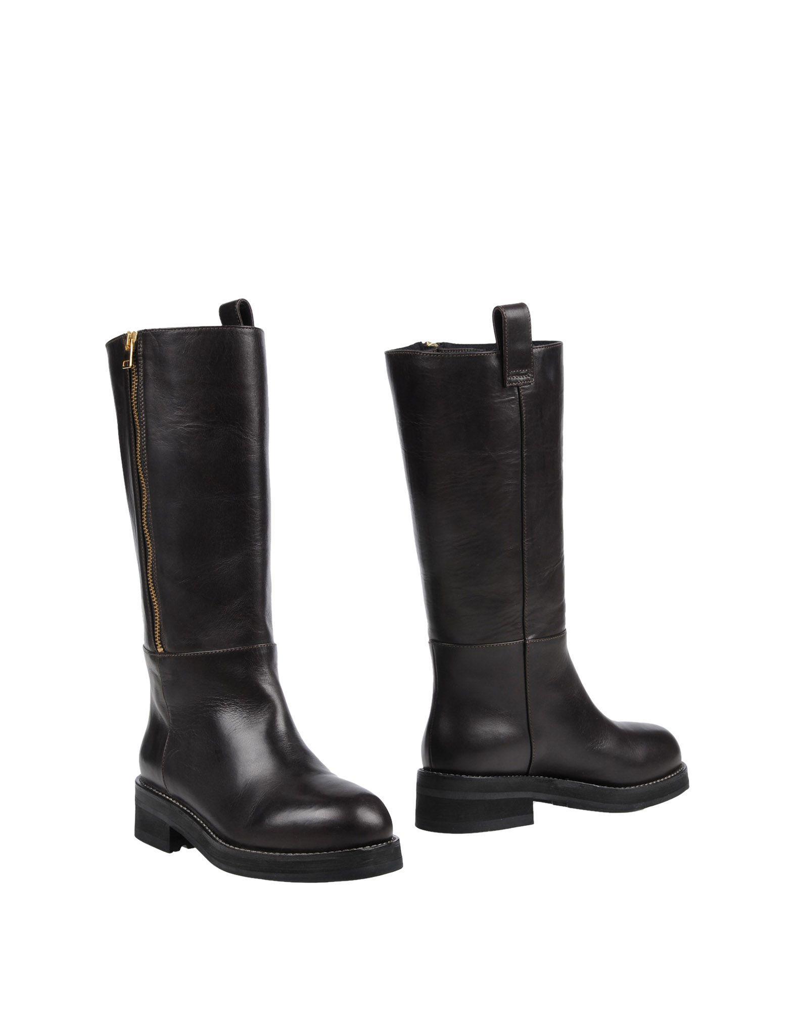 Marni Boots In Dark Brown