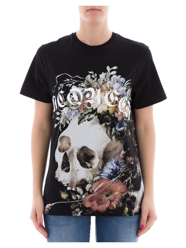 Alexander Mcqueen Black Cotton T-shirt