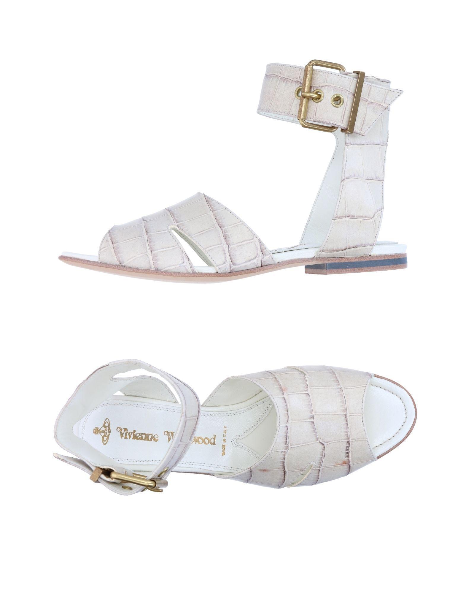Vivienne Westwood Sandals In Beige