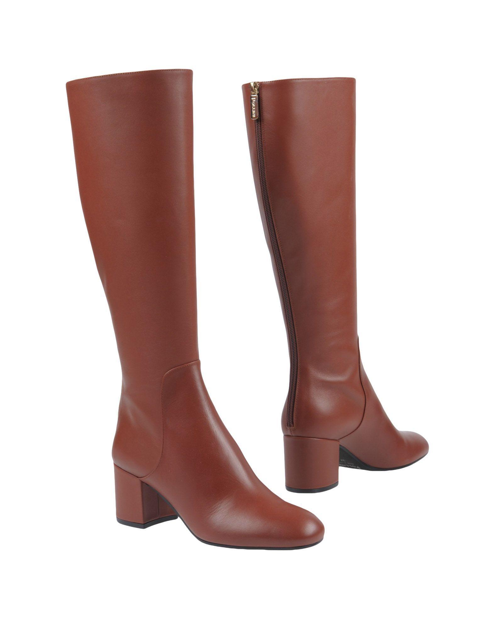 Pollini Boots In Rust