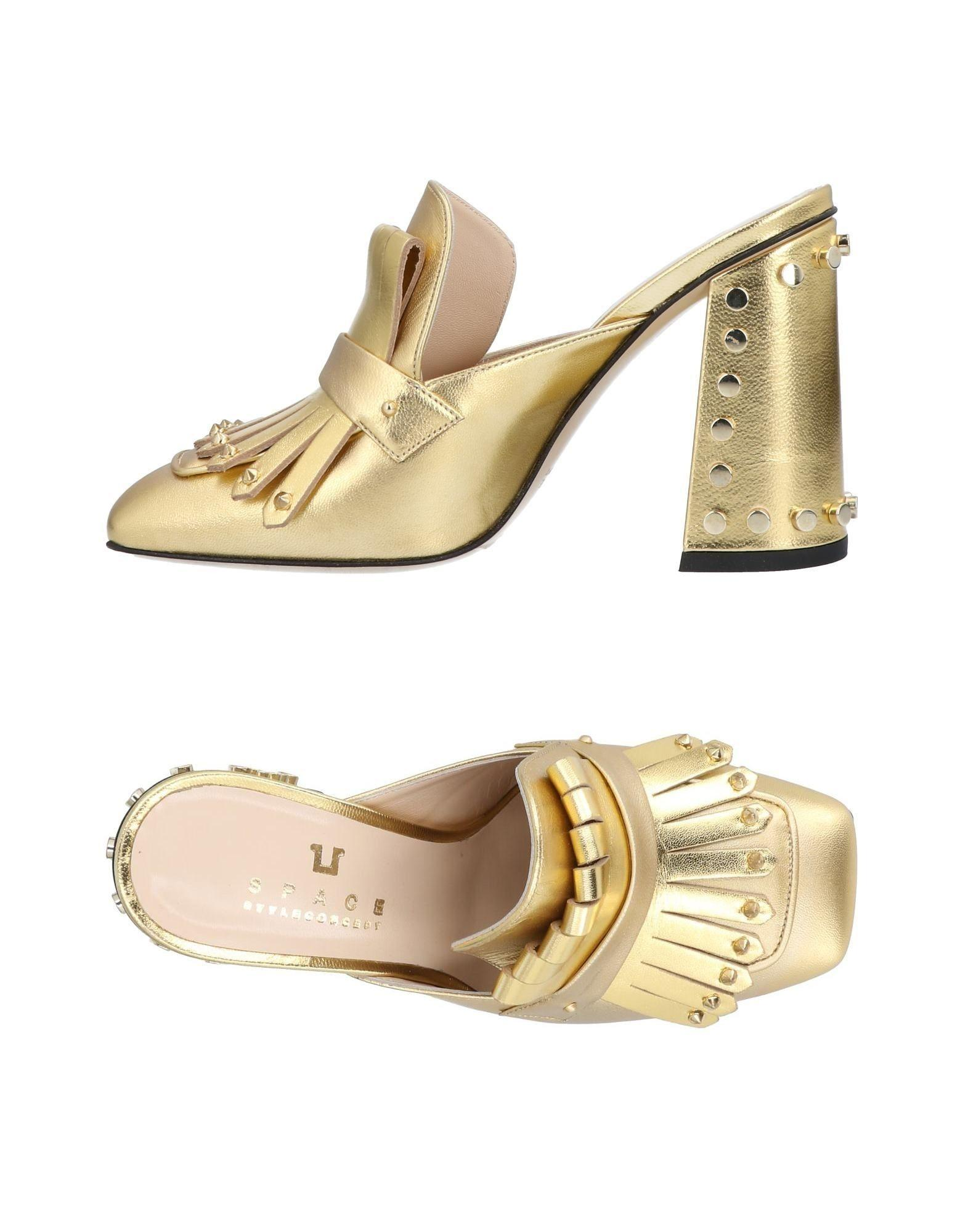Space Style Concept Loafers In Ocher