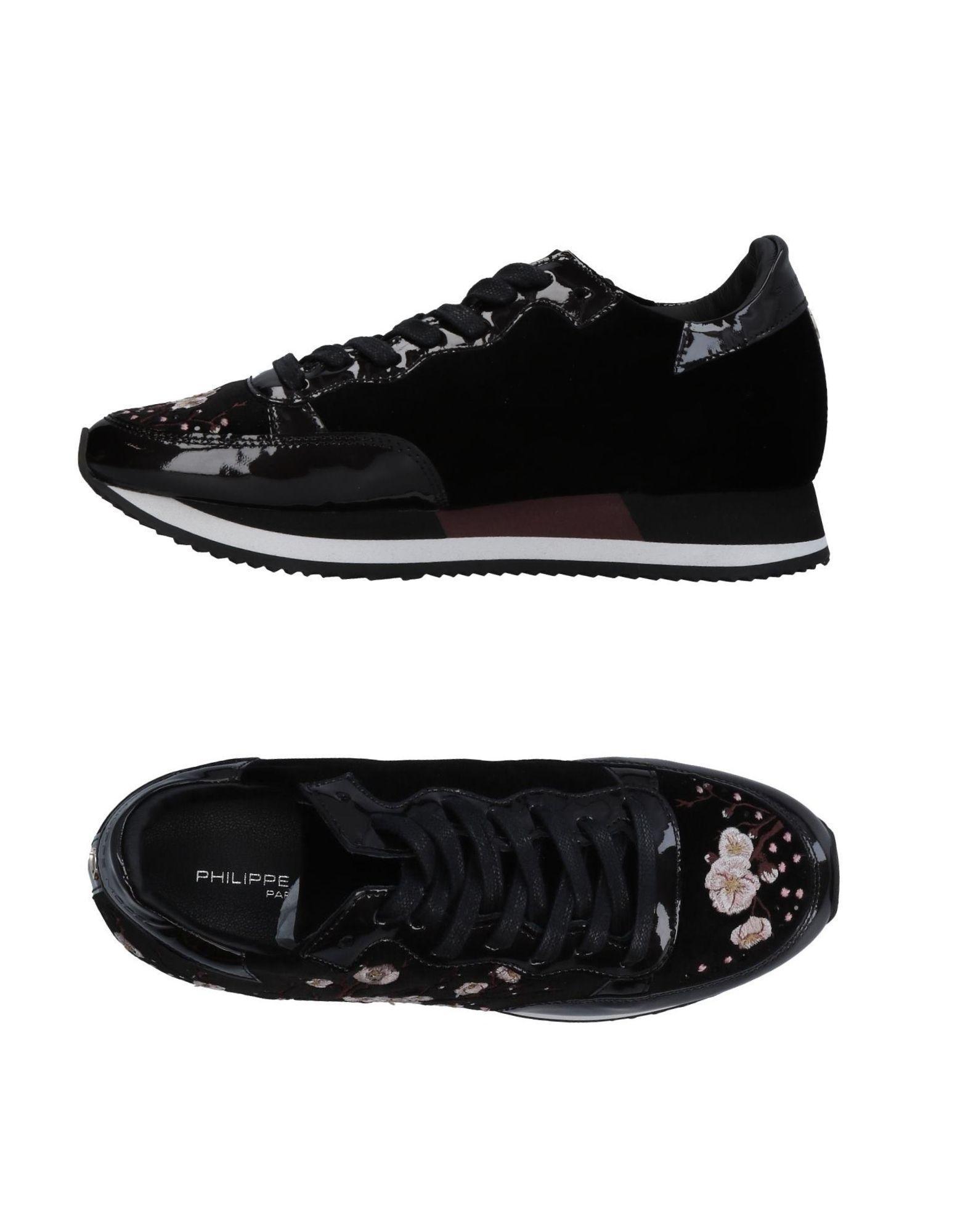 Philippe Model Sneakers In Black