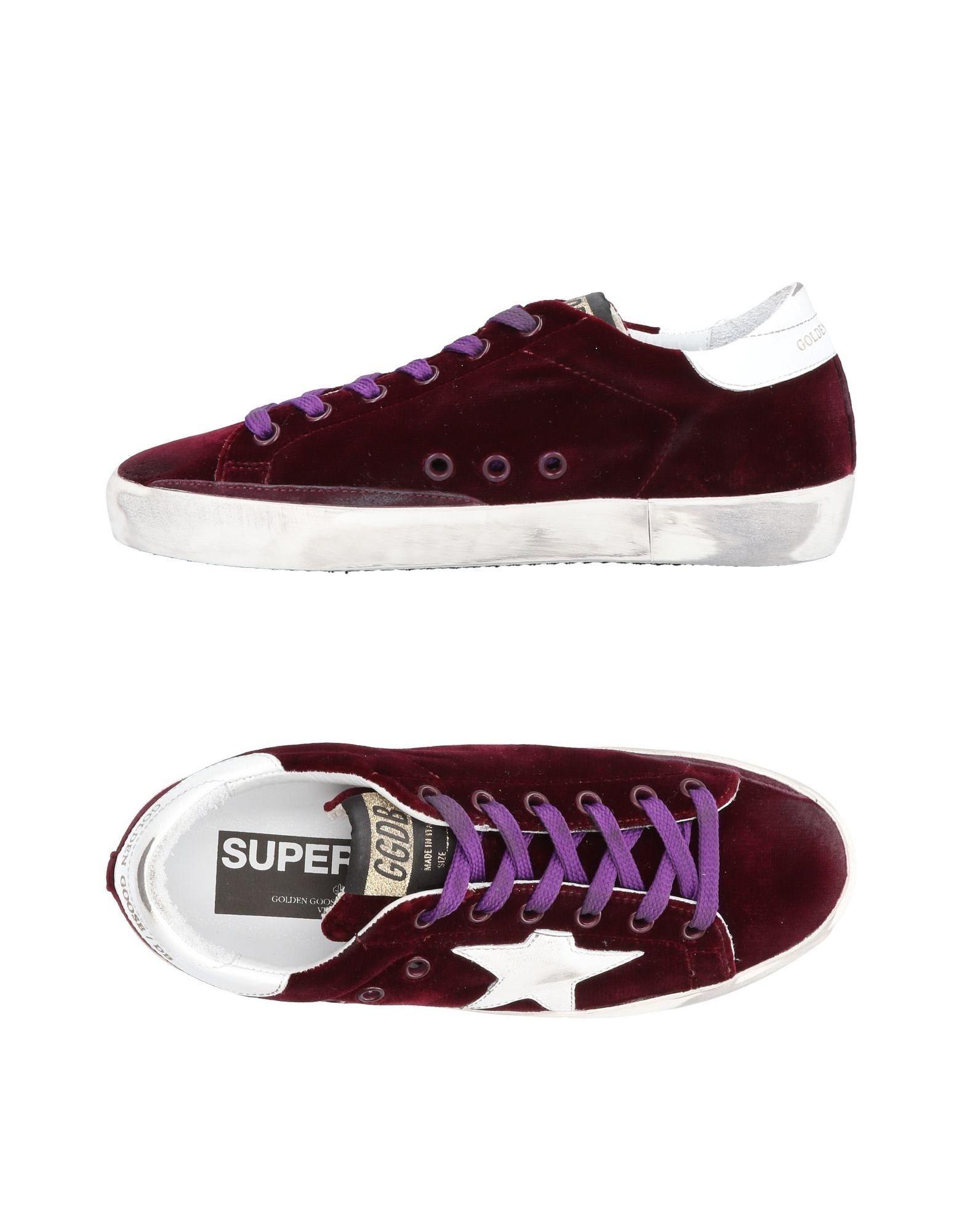 Golden Goose Sneakers In Deep Purple