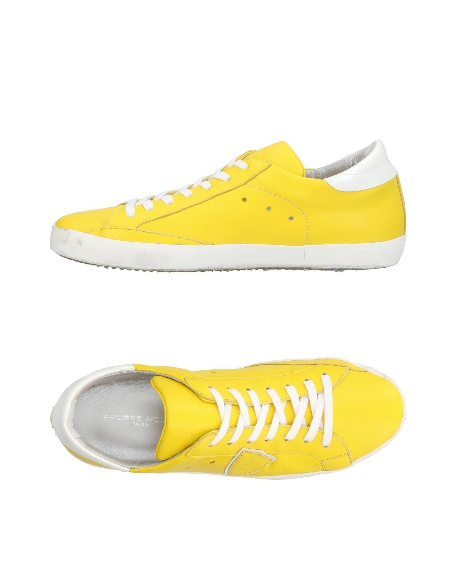 Philippe Model Sneakers In Yellow