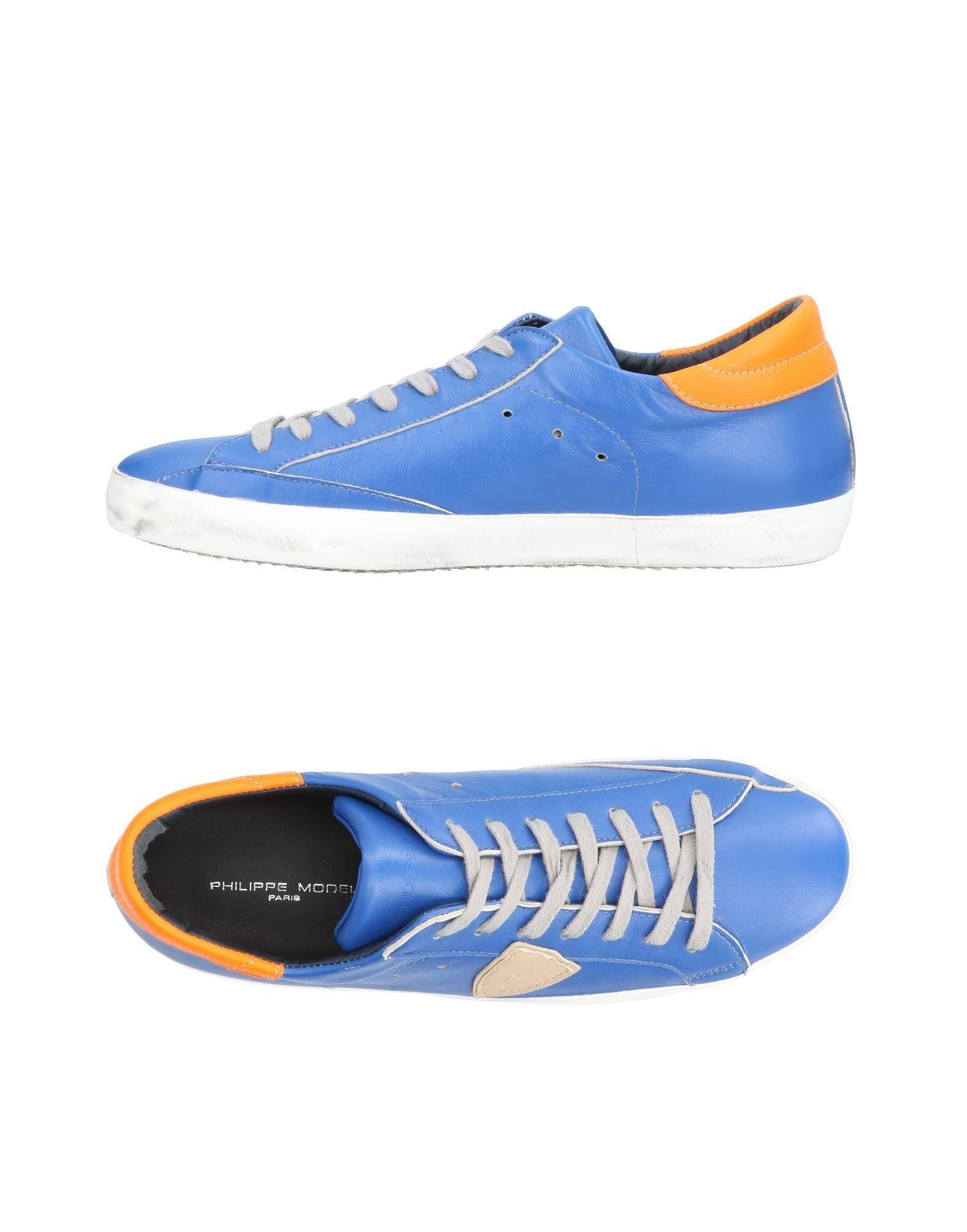 Philippe Model Sneakers In Bright Blue
