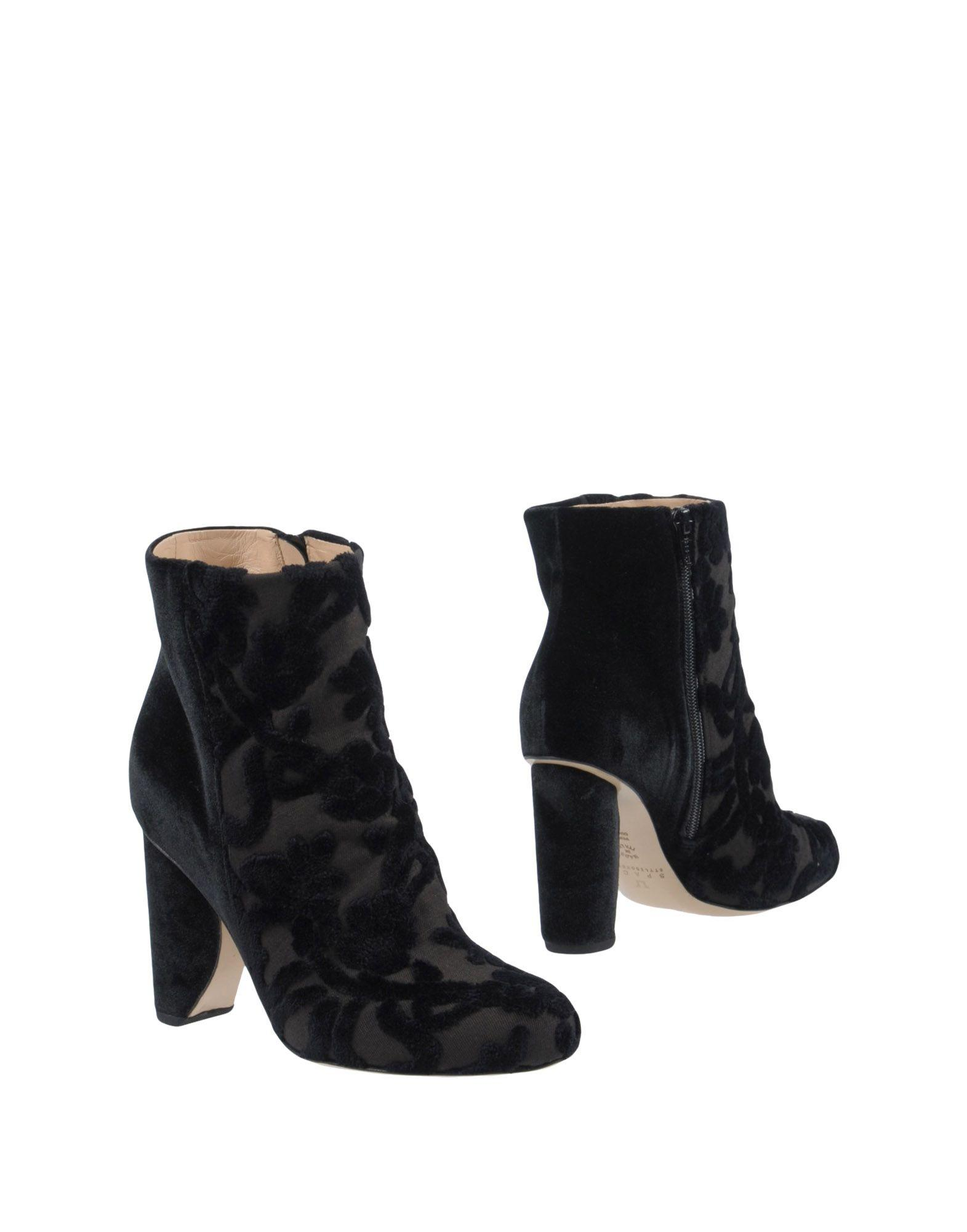 Space Style Concept Ankle Boot In Black