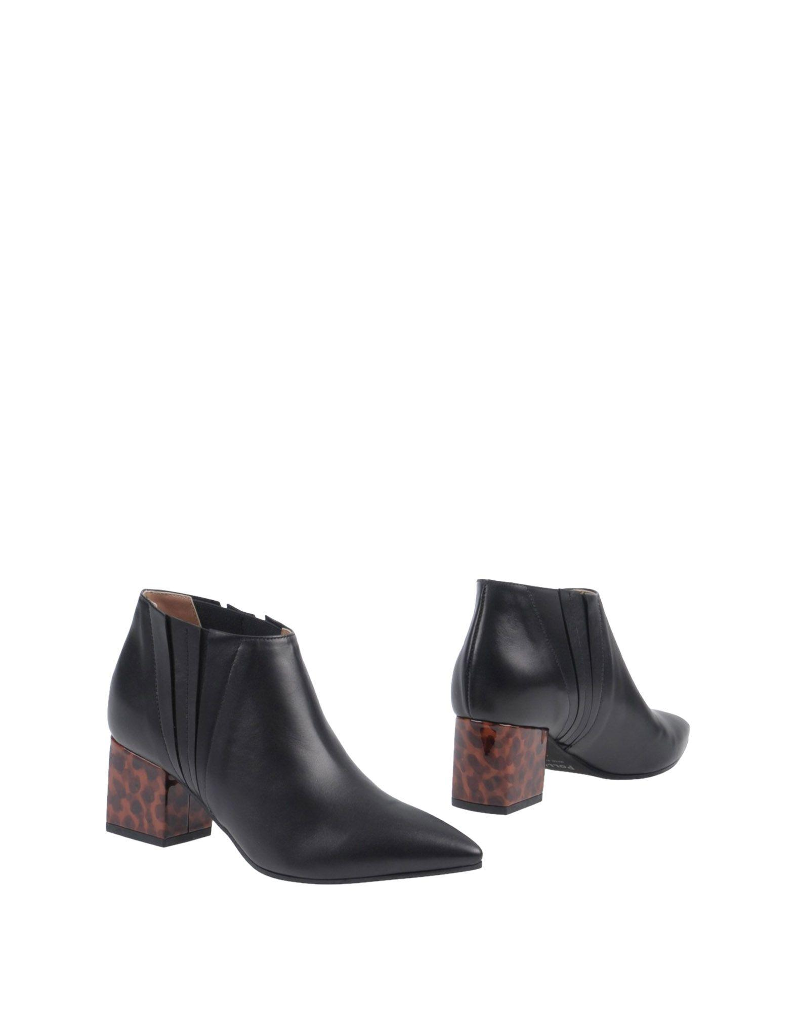 Pollini Ankle Boot In Black