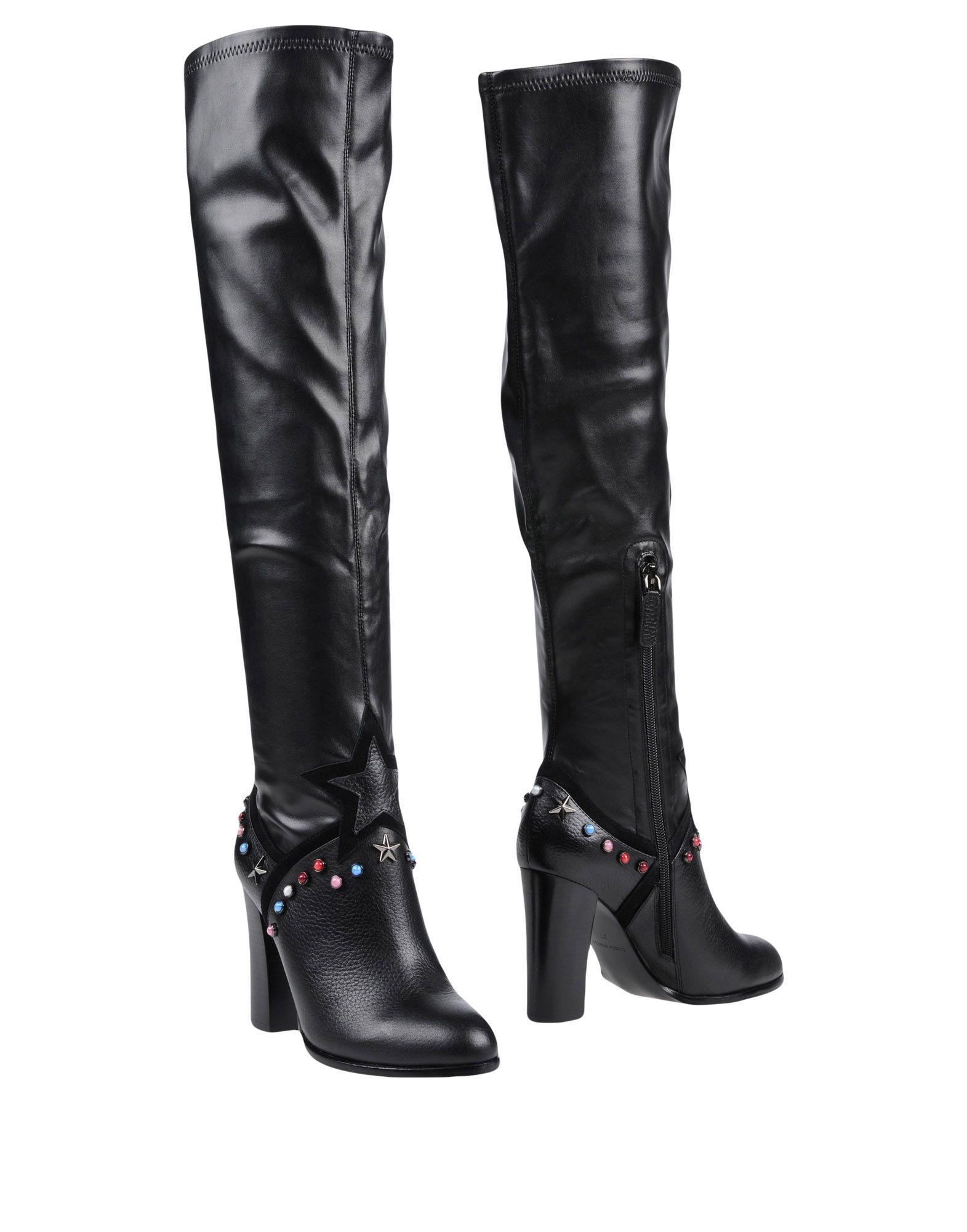 Frankie Morello Boots In Black