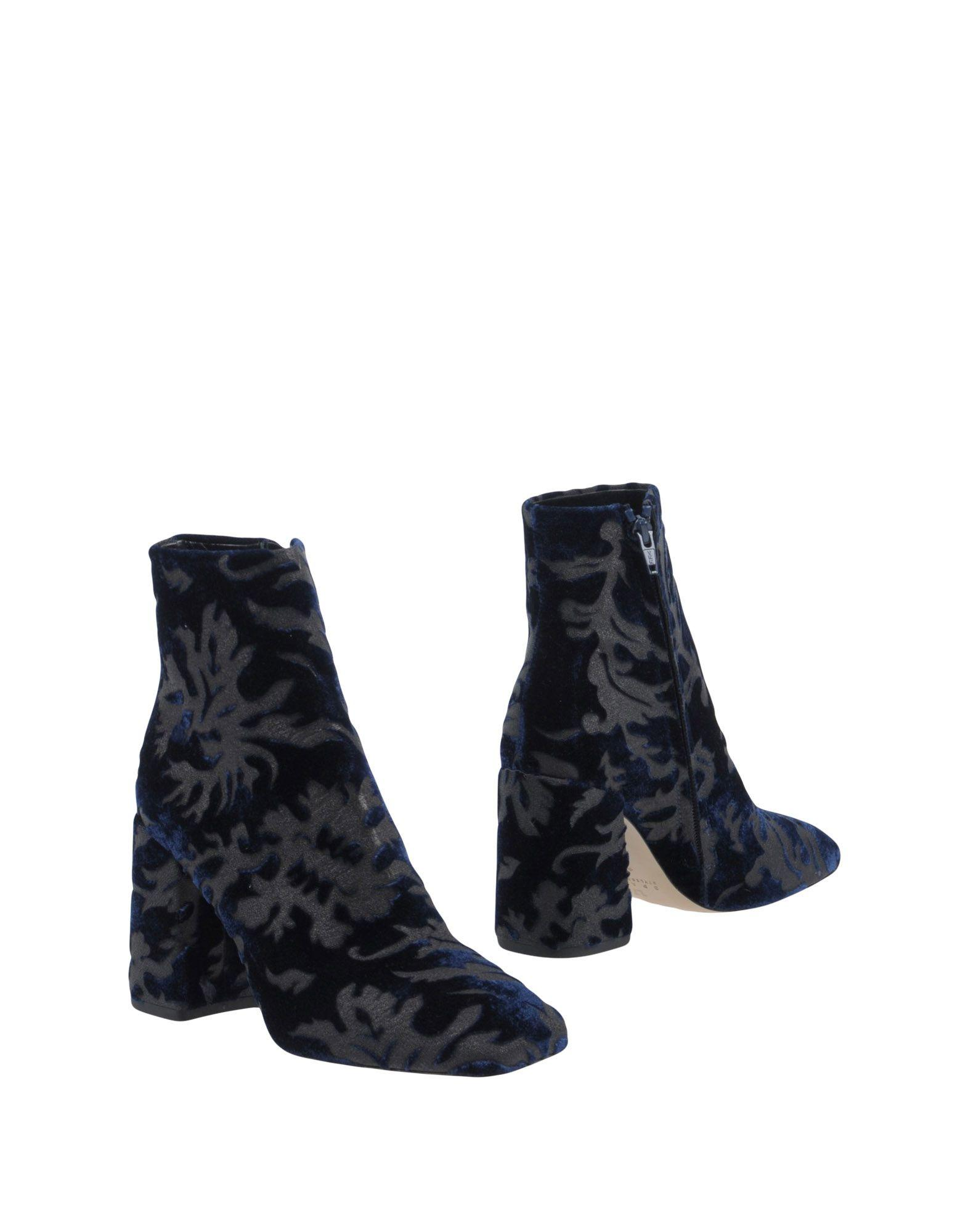 Space Style Concept Ankle Boot In Dark Blue