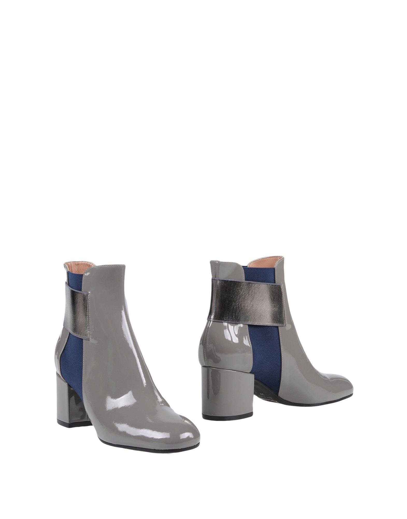 Pollini Ankle Boot In Grey