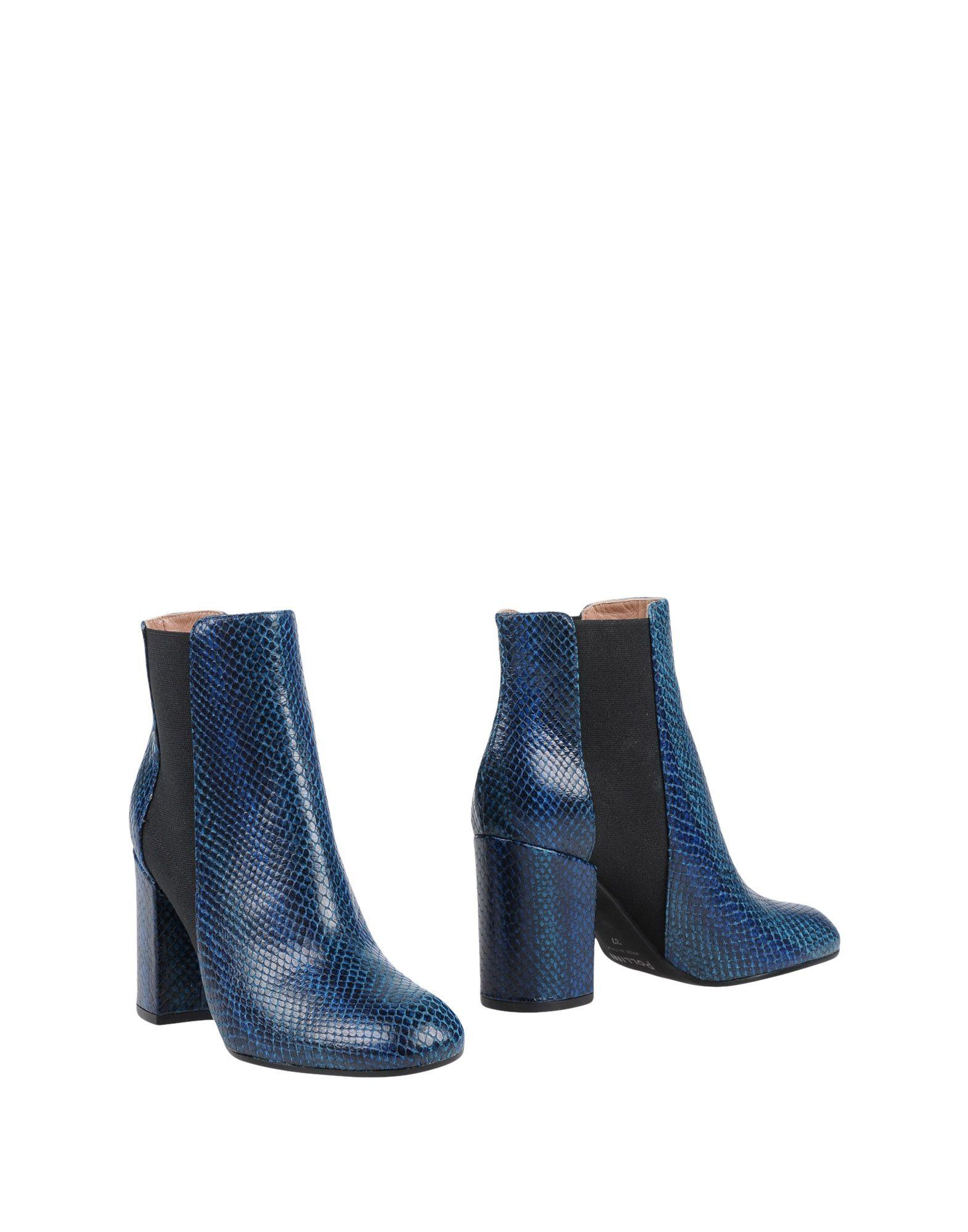 Pollini Ankle Boot In Blue