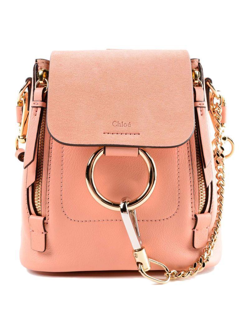 ChloÉ Faye Backpack In 6uideal Blush