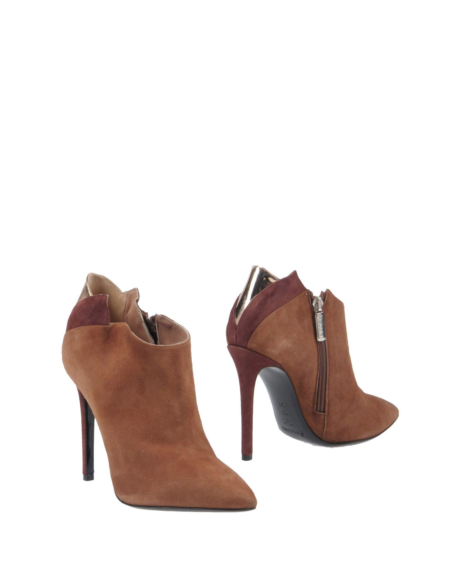 Pollini Booties In Brown
