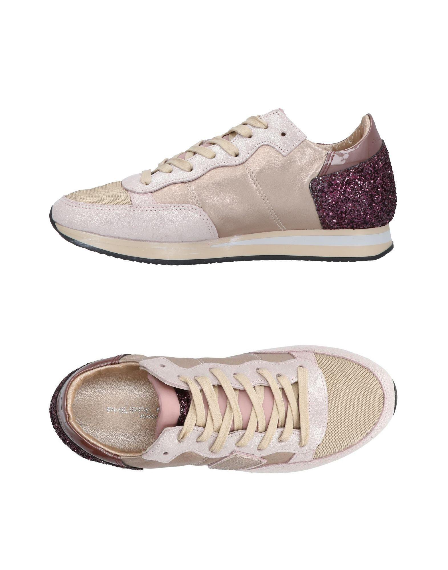 Philippe Model Sneakers In Sand