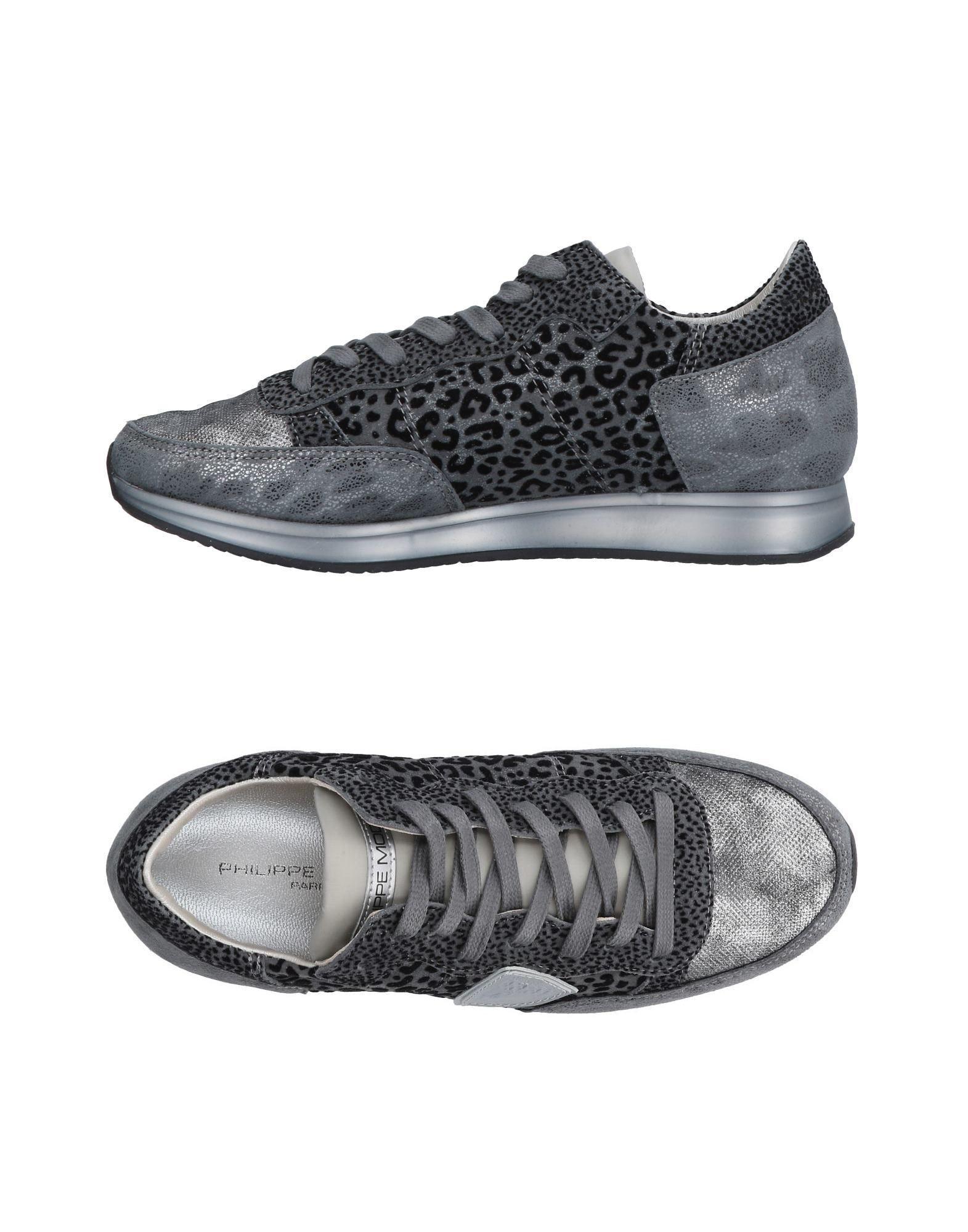 Philippe Model Sneakers In Lead