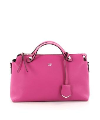 Fendi Pre-owned: By The Way Satchel Calfskin Small In Pink