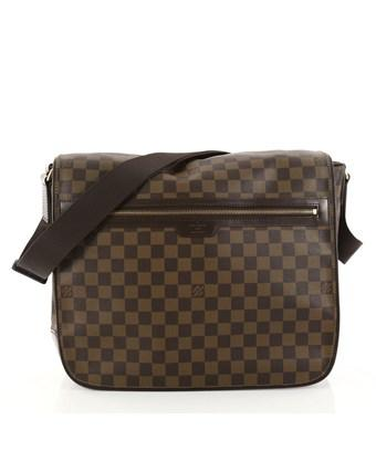 Louis Vuitton Pre-owned: Spencer Messenger Bag Damier In Brown