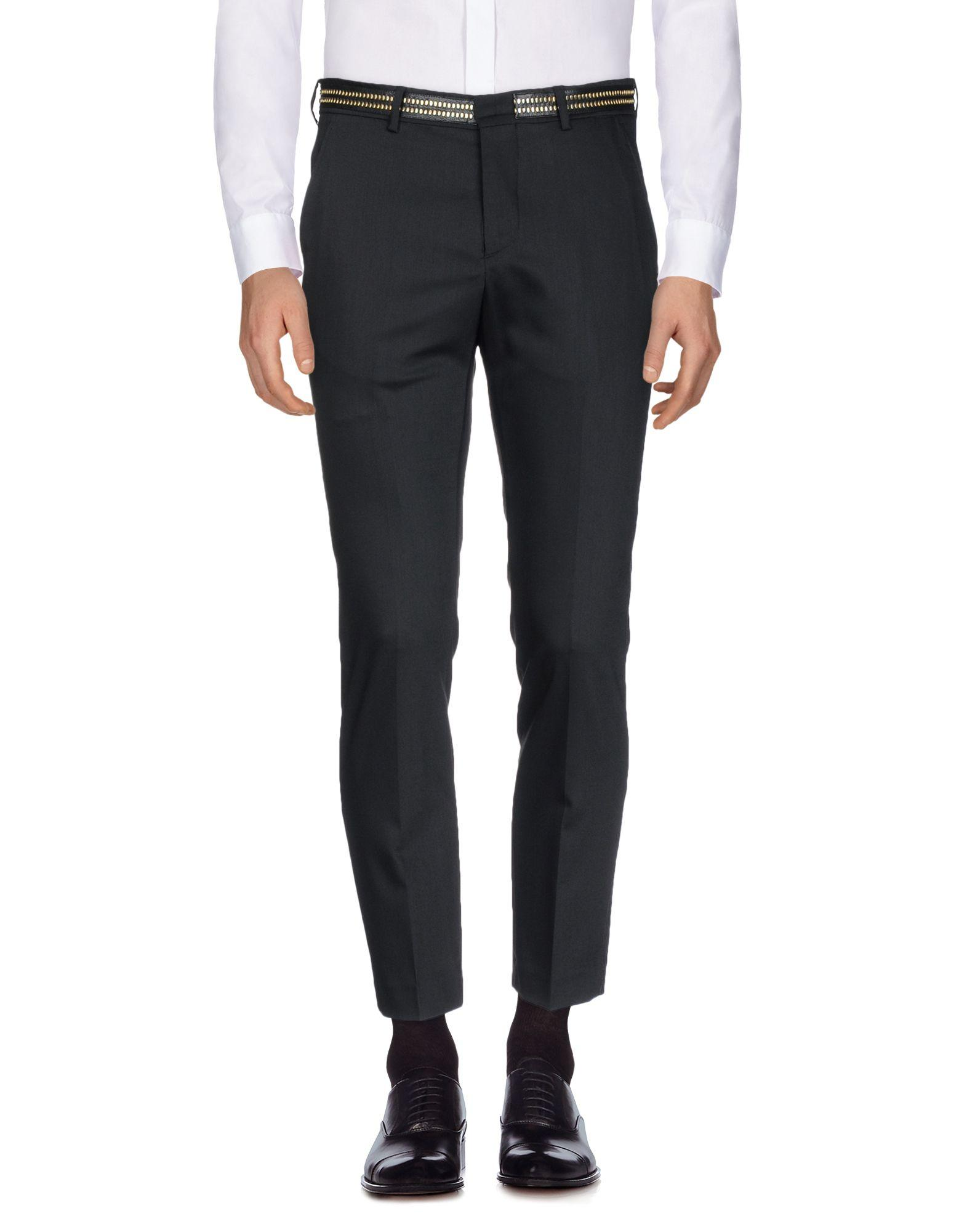 Class Roberto Cavalli Casual Pants In Black