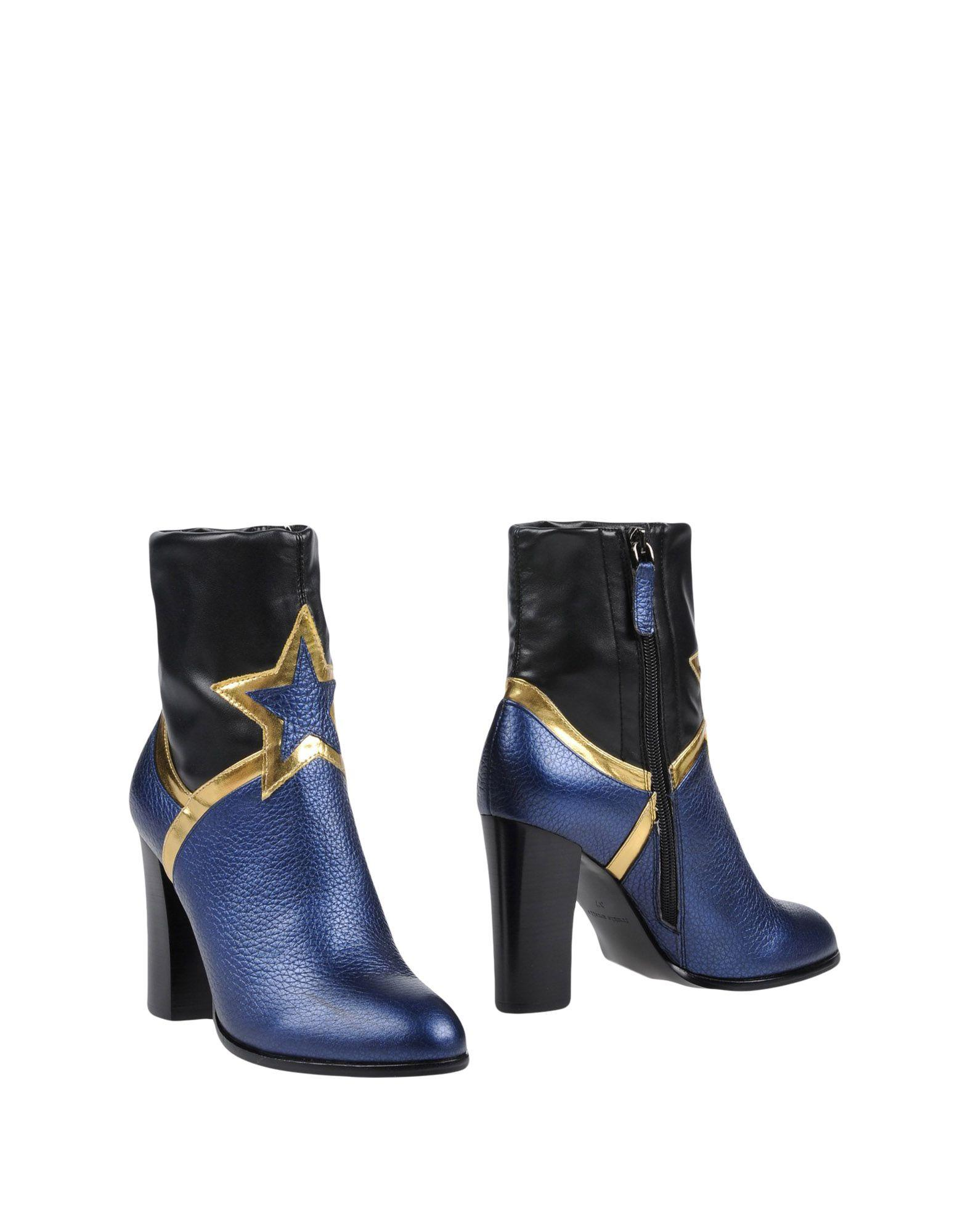 Frankie Morello Ankle Boot In Dark Blue