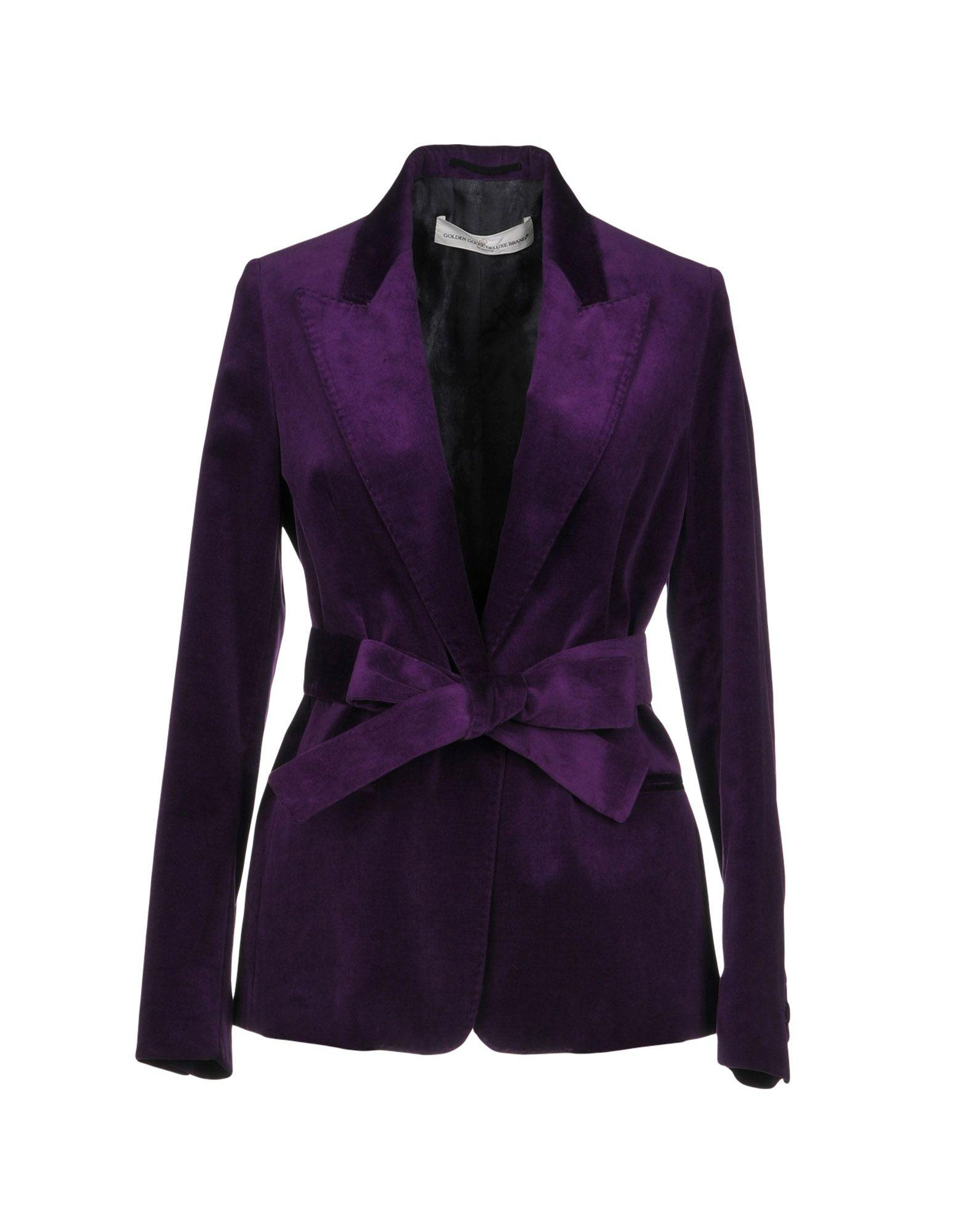 Golden Goose Blazer In Purple