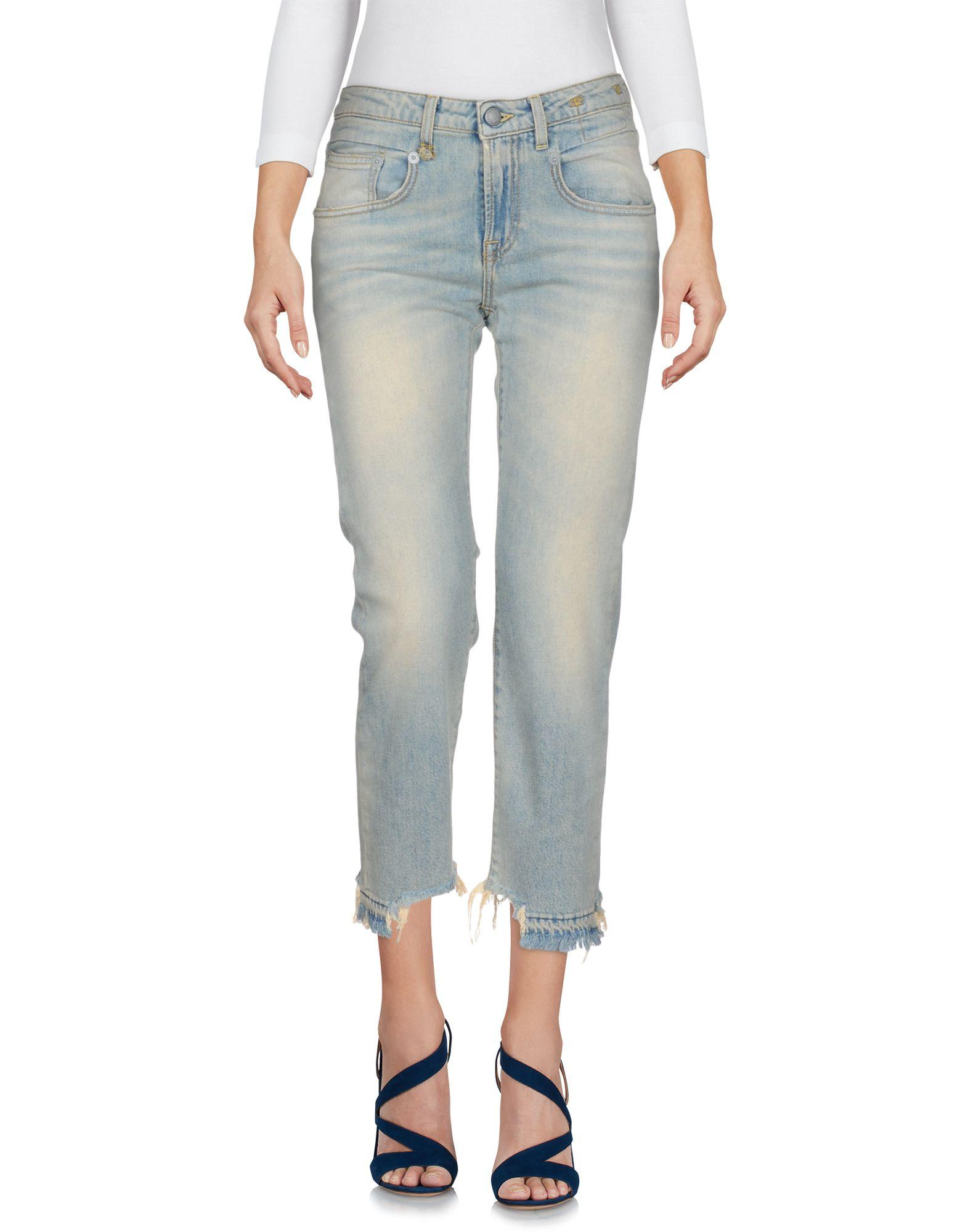 R13 Jeans In Blue