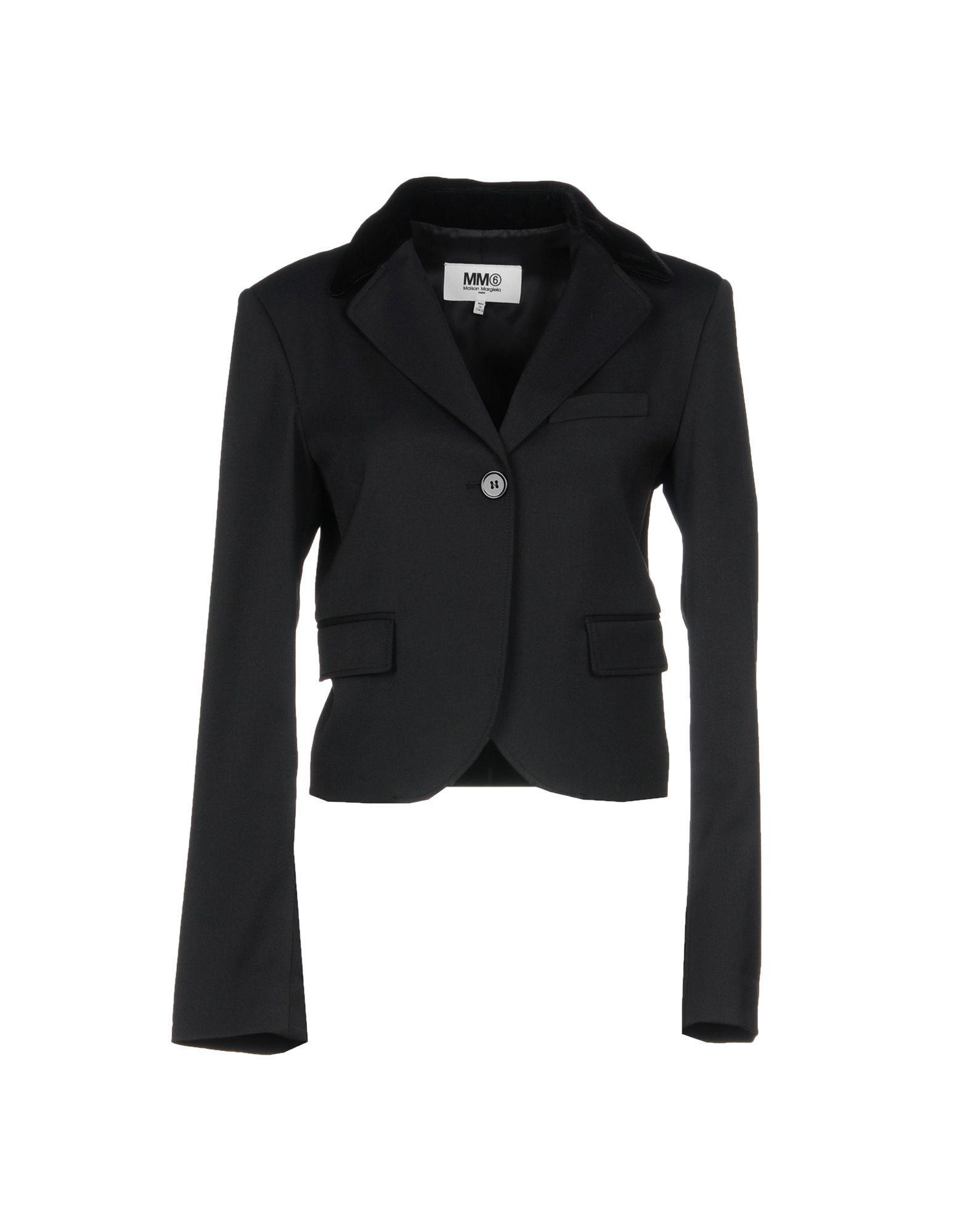 Mm6 Maison Margiela Blazer In Black