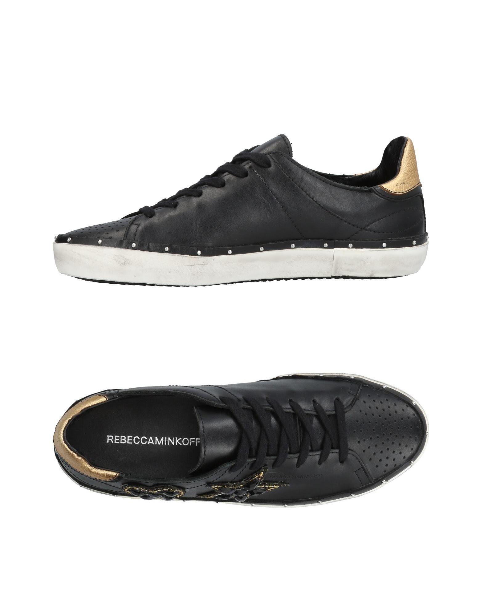 Rebecca Minkoff Sneakers In Black