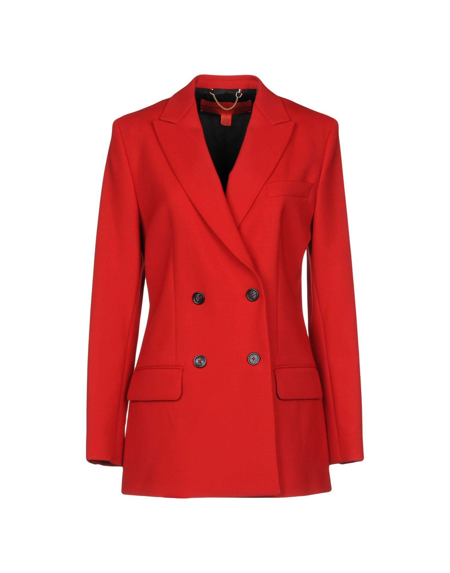 Tommy Hilfiger Blazer In Red