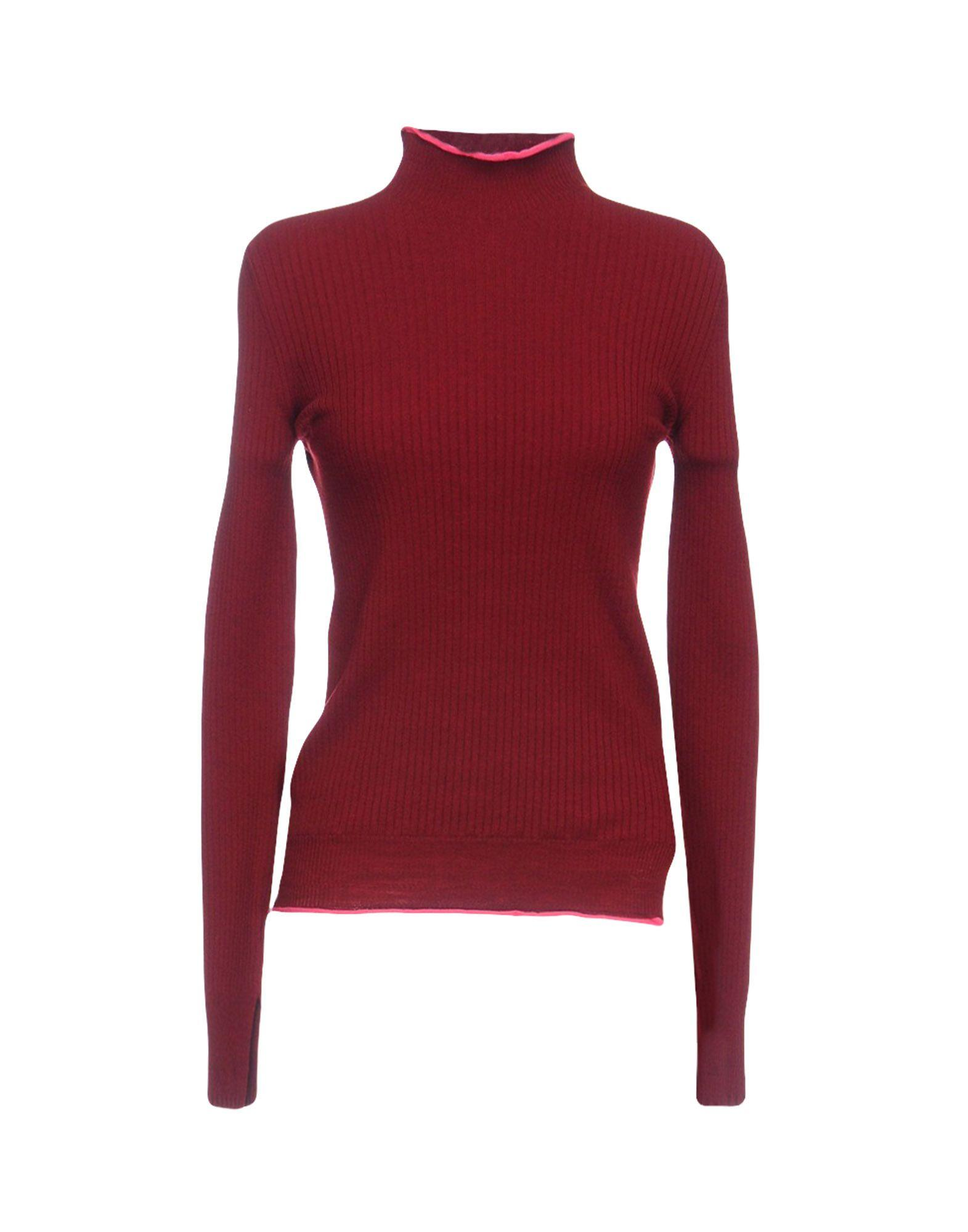 Mrz Turtleneck In Maroon