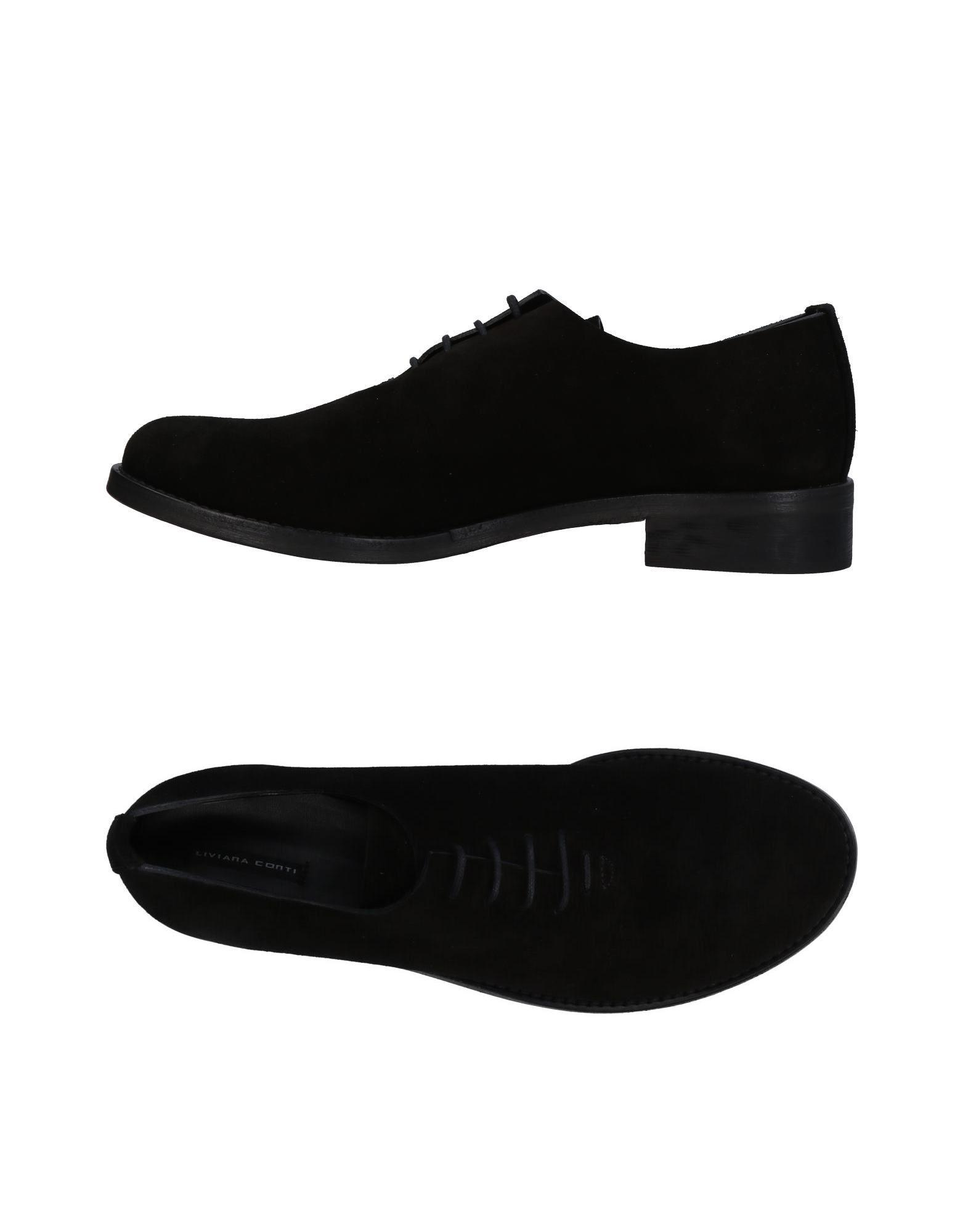 Liviana Conti Lace-up Shoes In Black