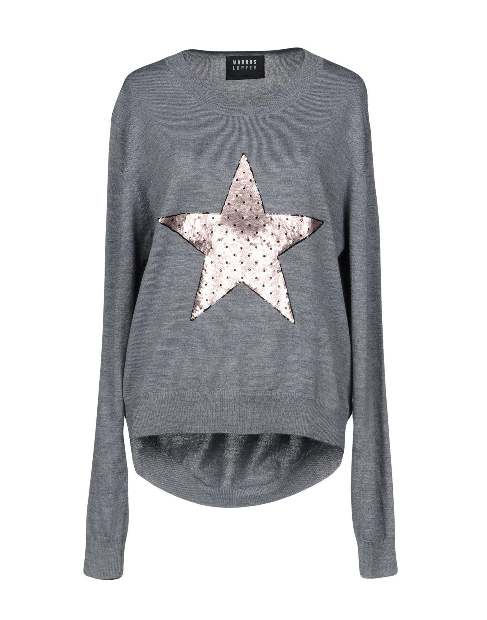 Markus Lupfer Sweater In Grey