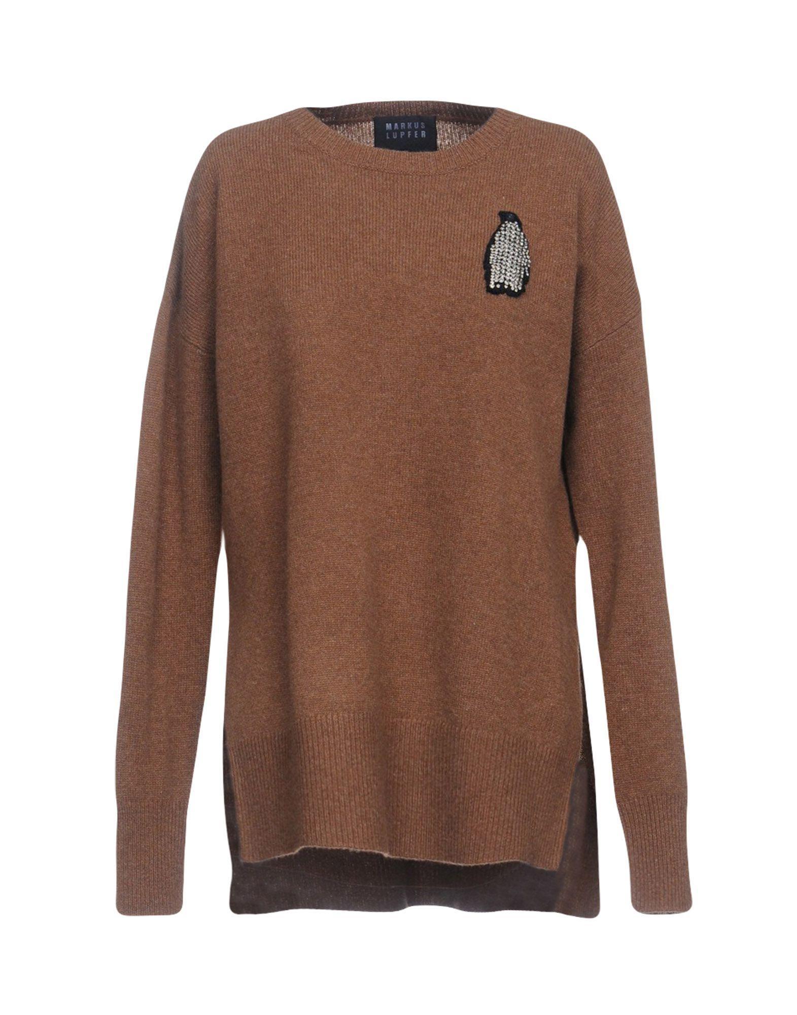 Markus Lupfer Sweater In Khaki