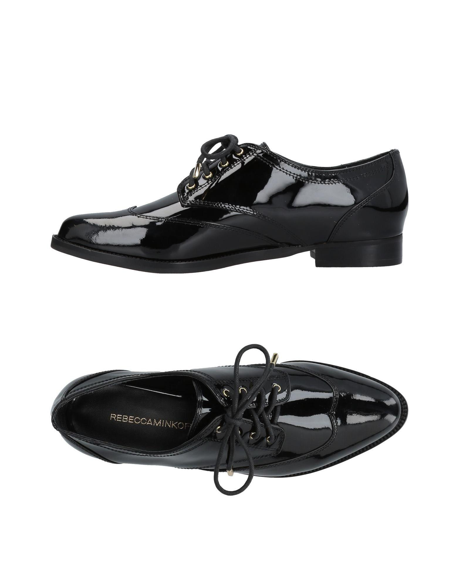 Rebecca Minkoff Laced Shoes In Black