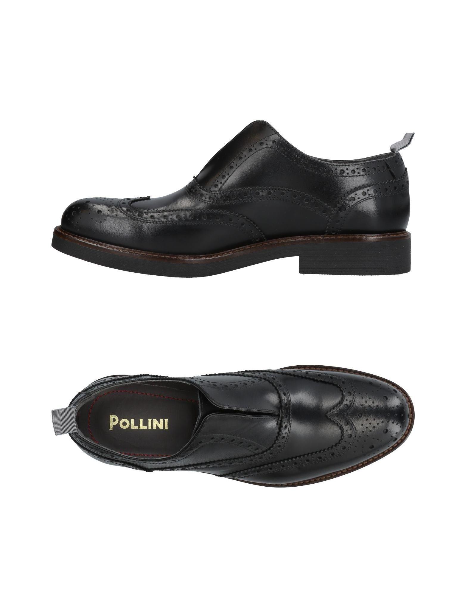 Pollini Loafers In Black