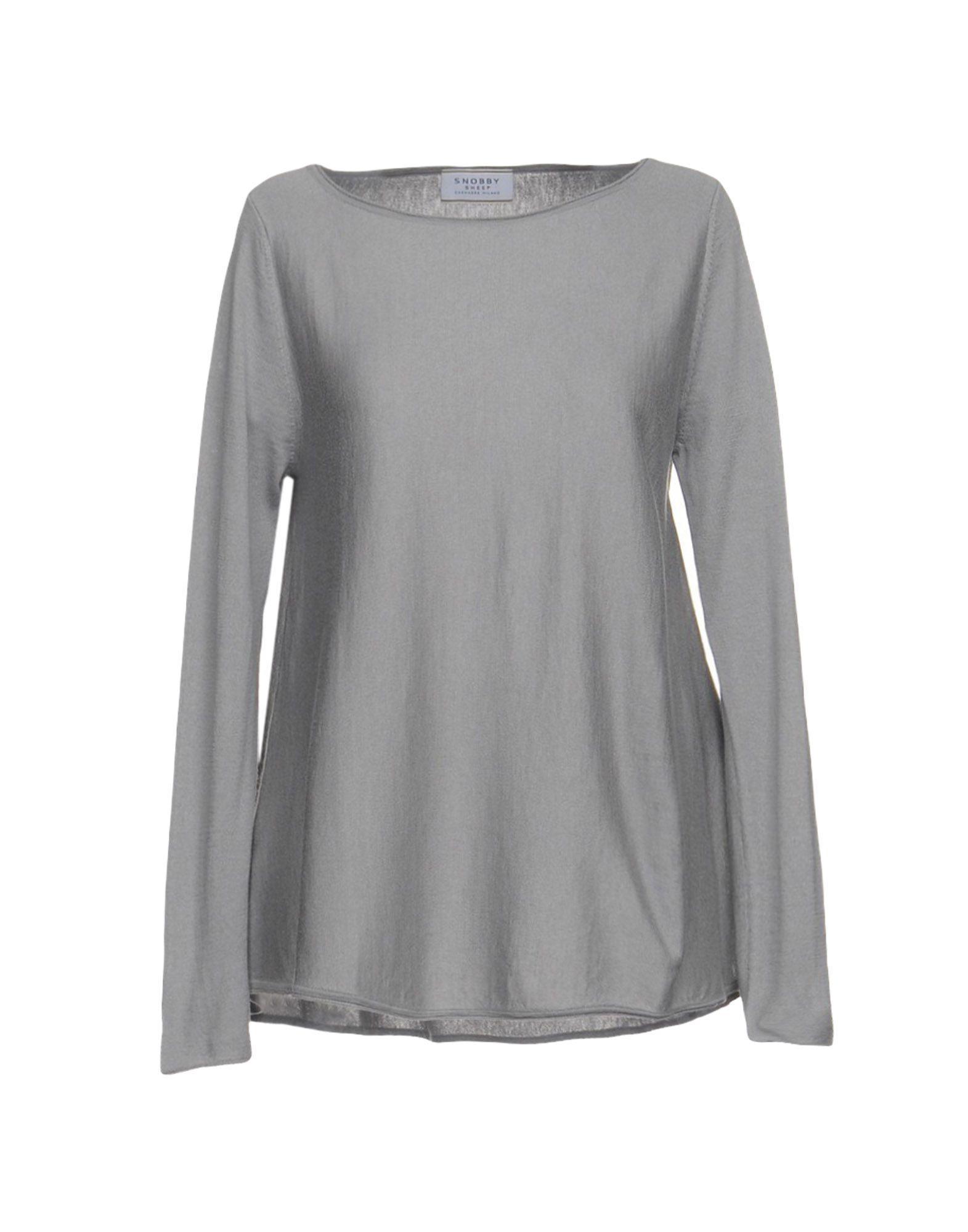 Snobby Sheep Sweater In Light Grey
