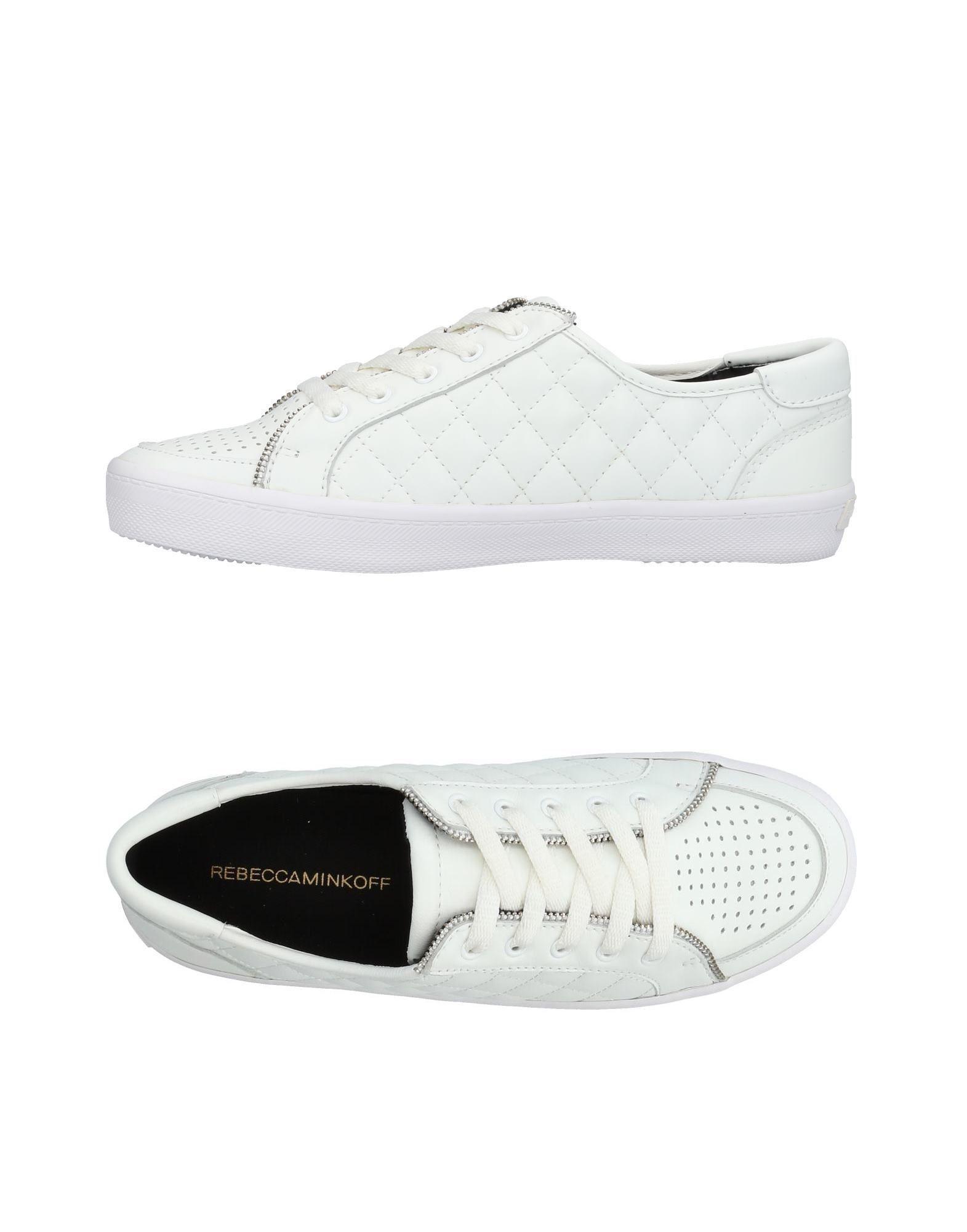 Rebecca Minkoff Sneakers In White