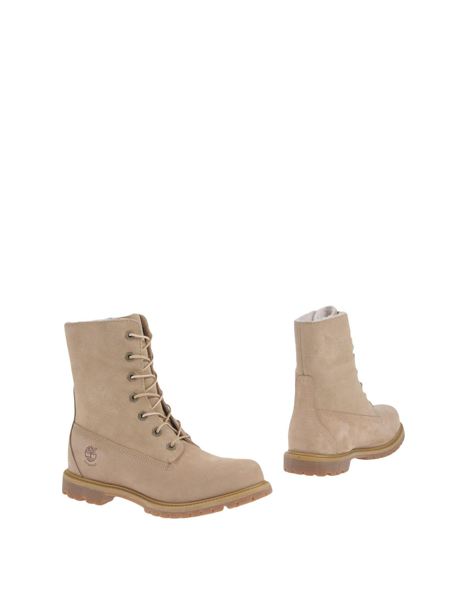 Timberland Ankle Boots In Beige