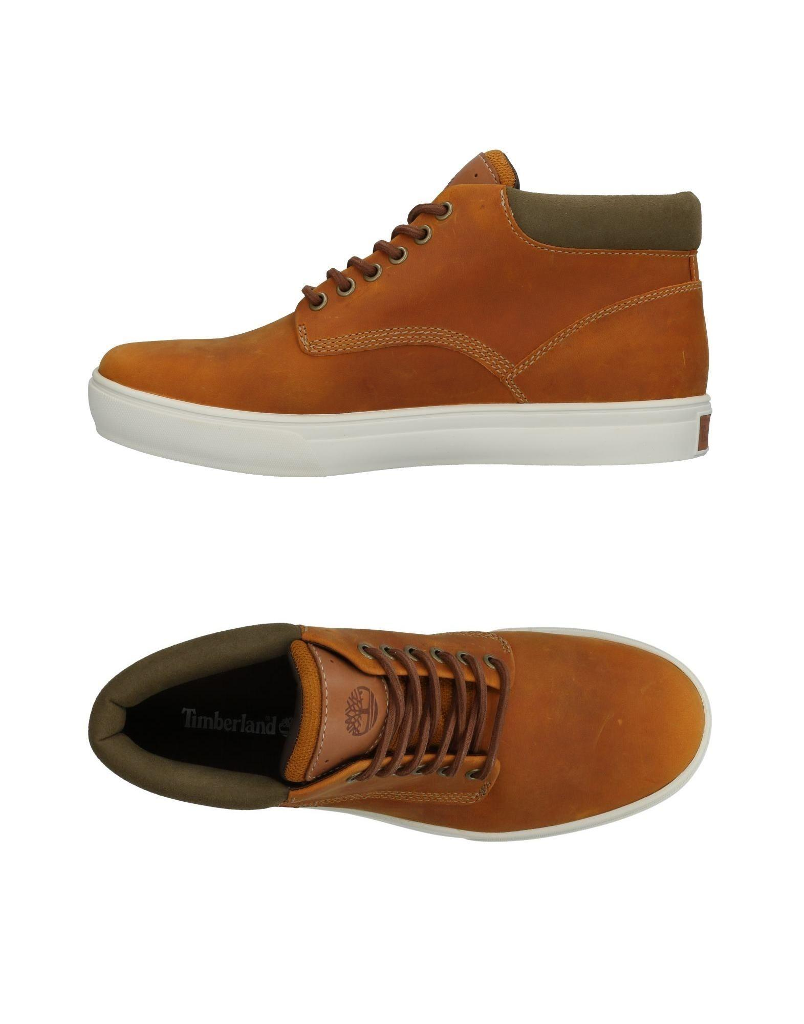 Timberland Sneakers In Ocher