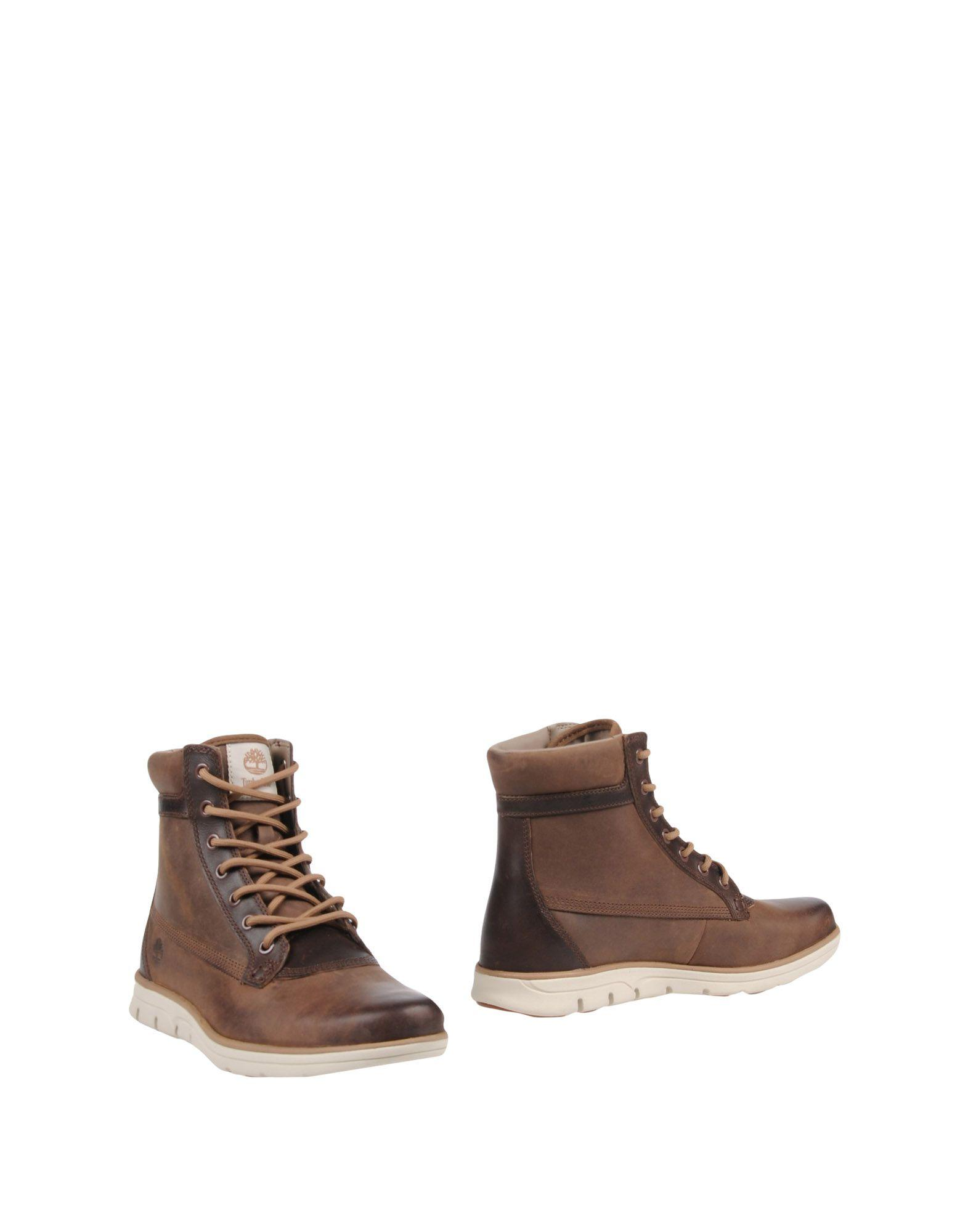 Timberland Ankle Boots In Dark Brown