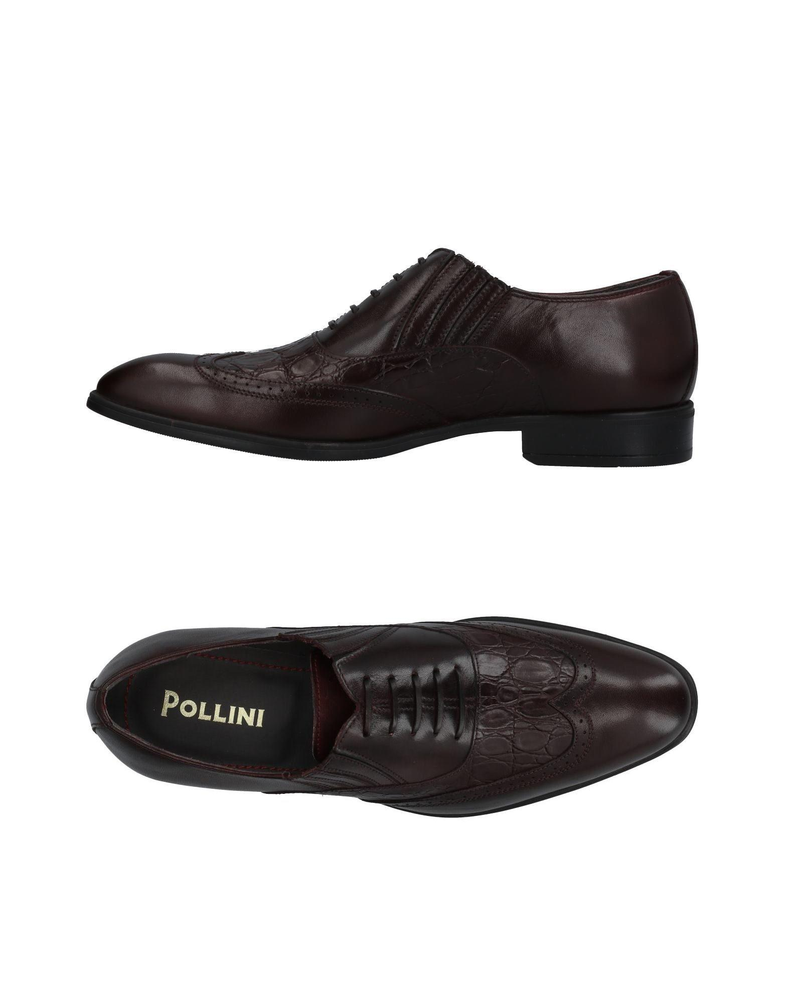 Pollini Loafers In Maroon